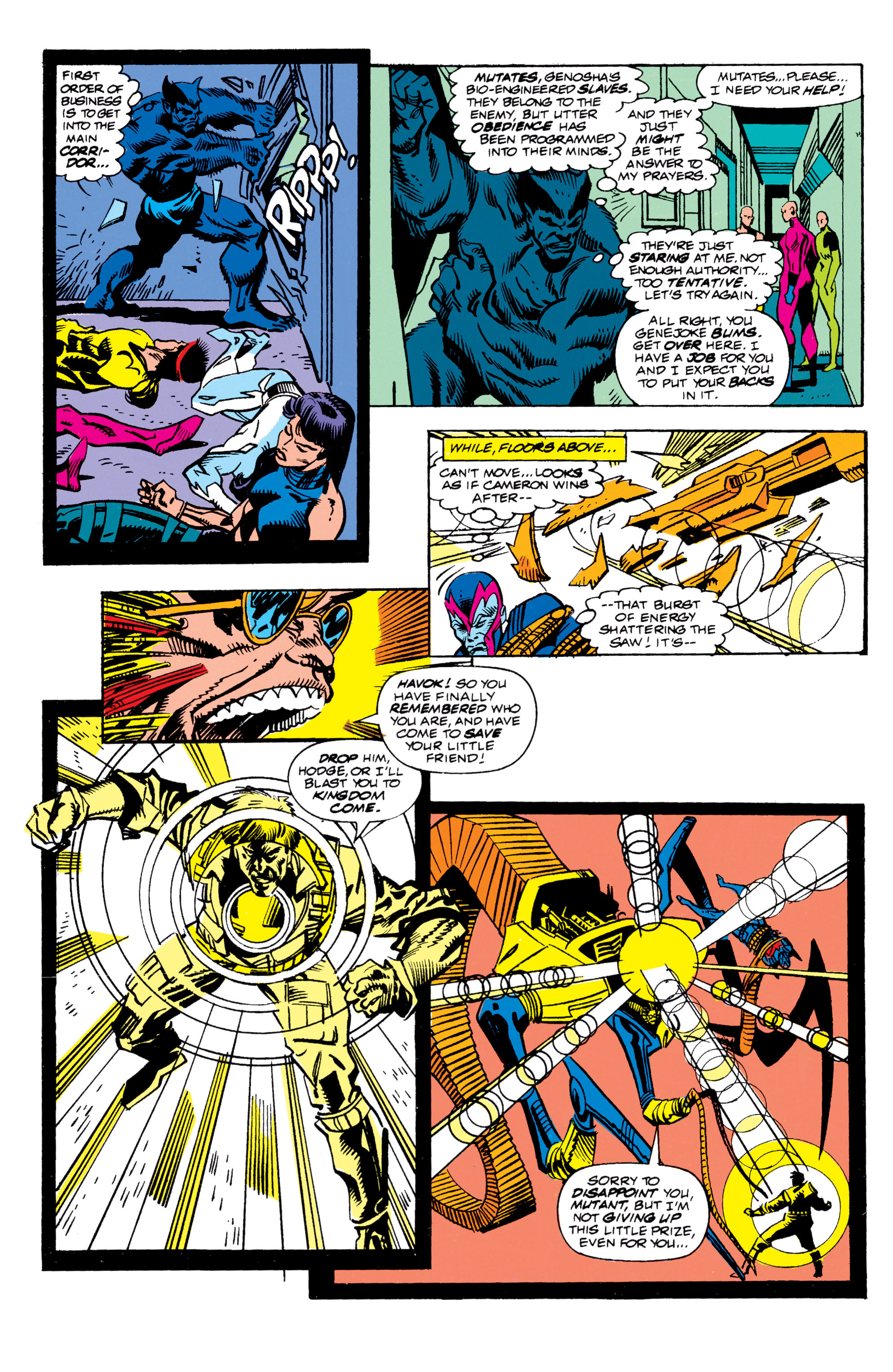 Read online X-Factor (1986) comic -  Issue #62 - 12