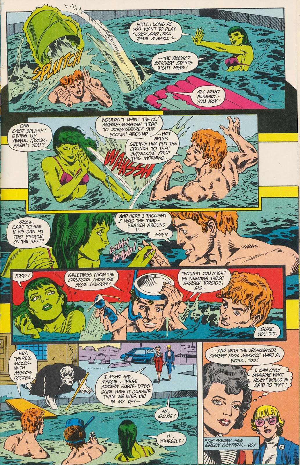 Infinity Inc. (1984) issue 40 - Page 23