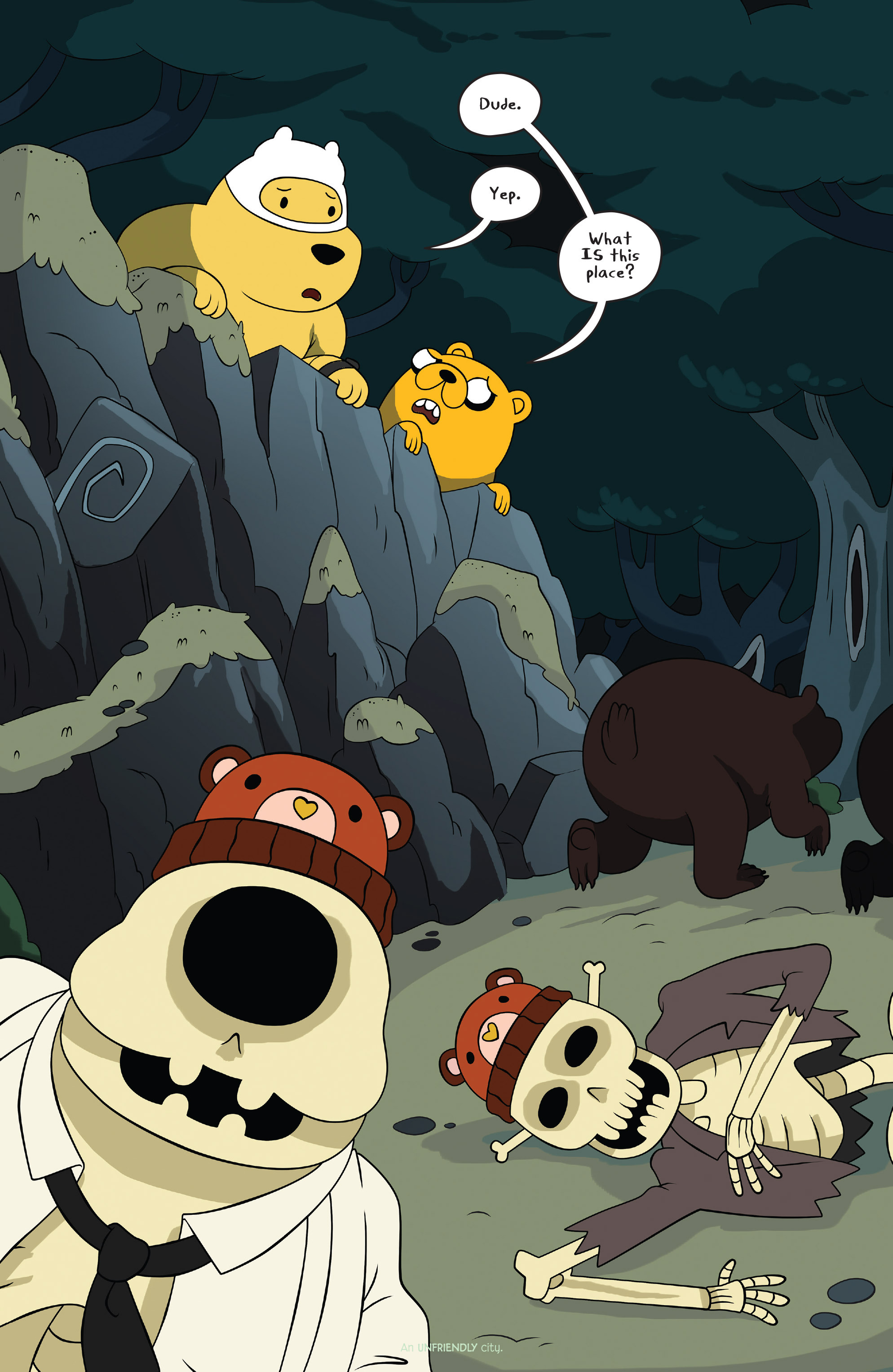 Read online Adventure Time comic -  Issue #42 - 7