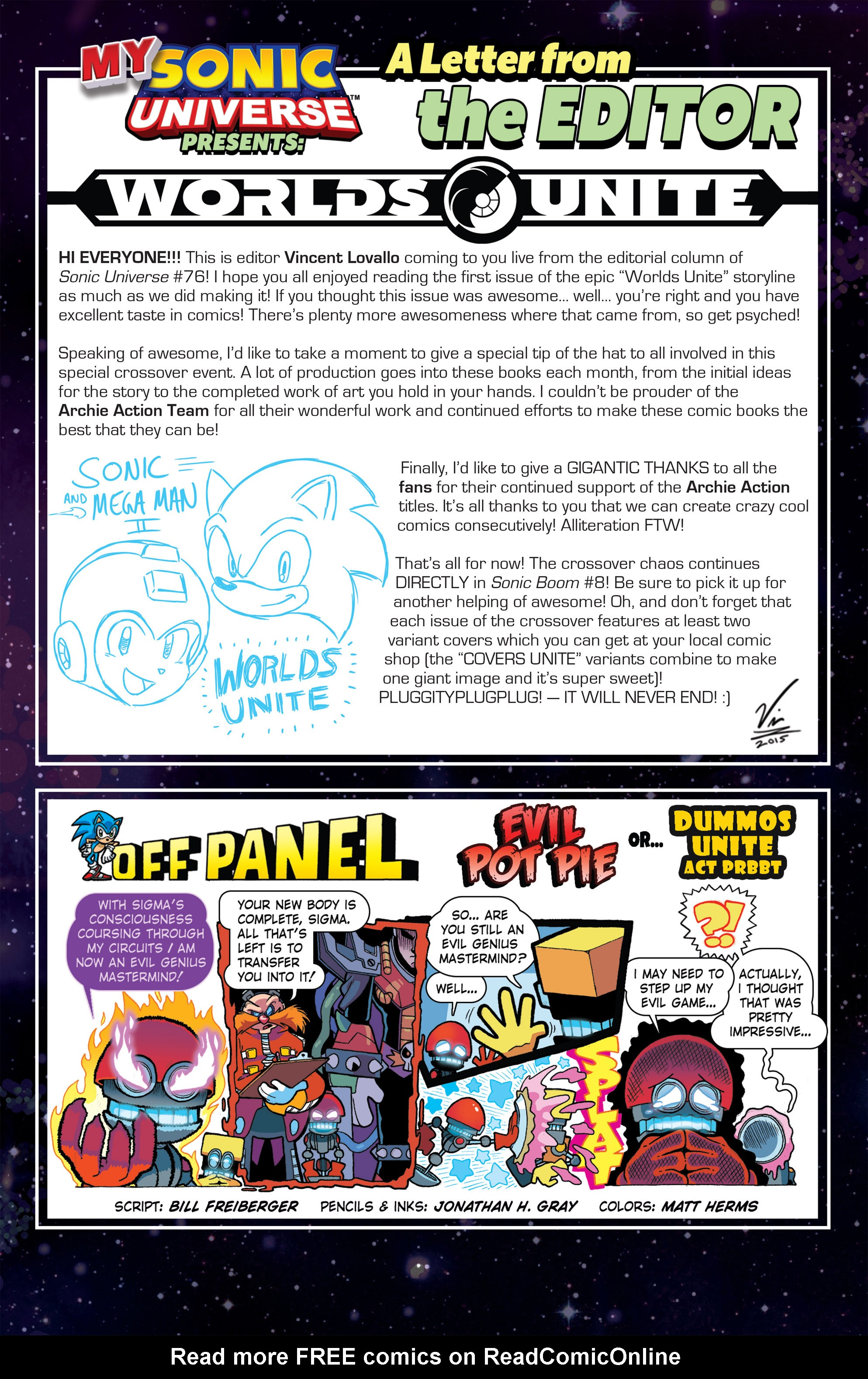 Read online Sonic Universe comic -  Issue #76 - 23