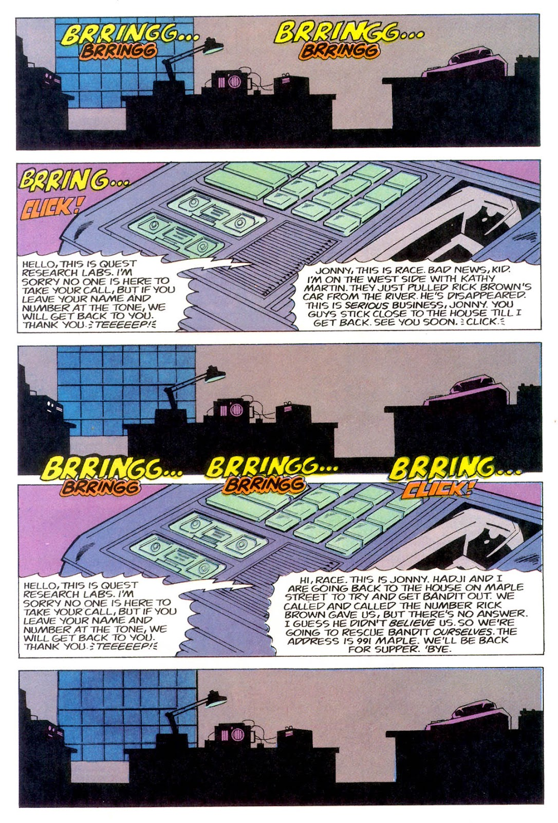 Jonny Quest (1986) issue 11 - Page 23