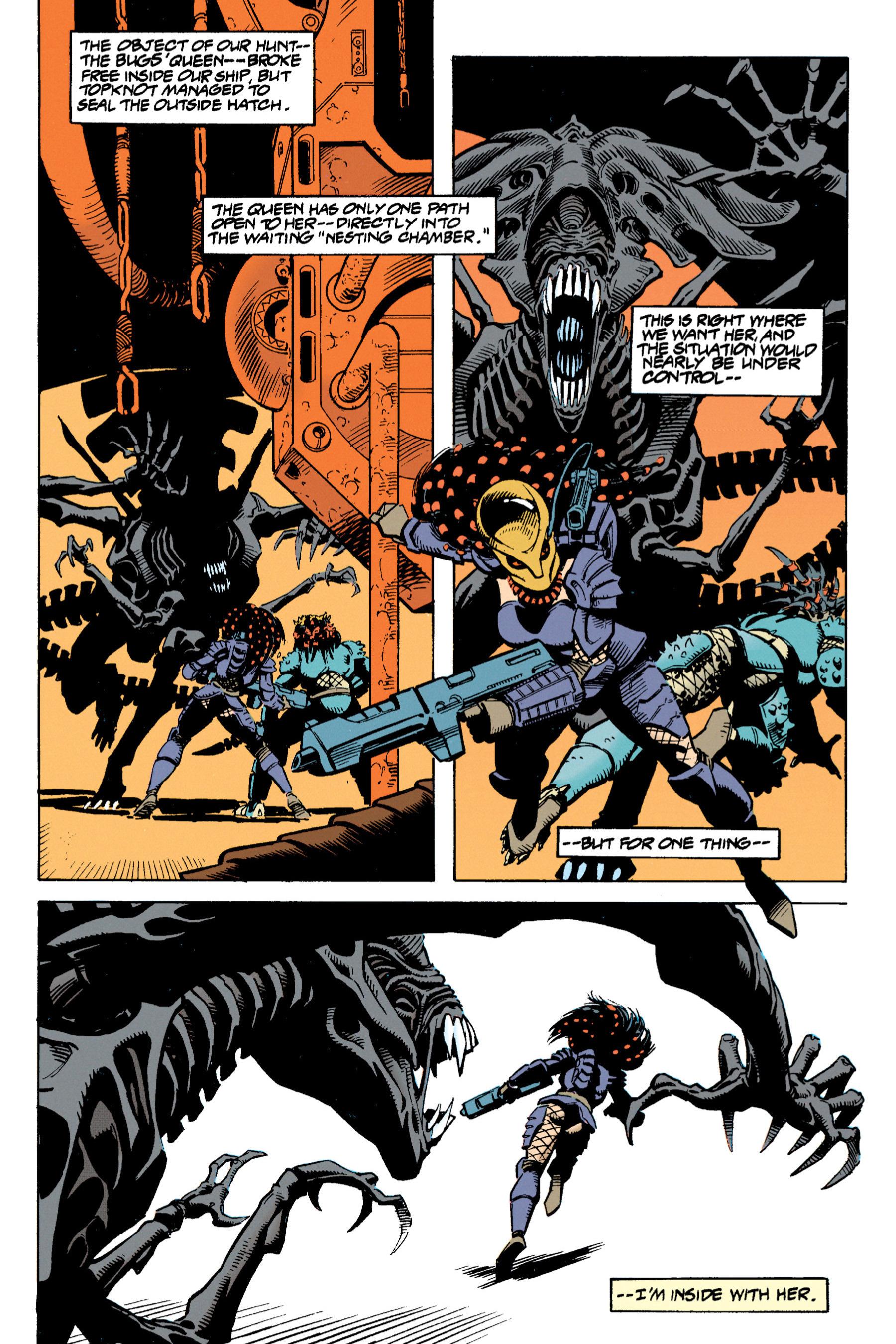 Read online Aliens vs. Predator Omnibus comic -  Issue # _TPB 1 Part 3 - 32