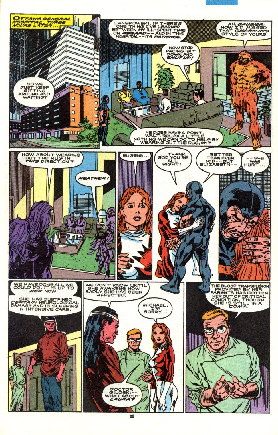 Read online Alpha Flight (1983) comic -  Issue #90 - 21