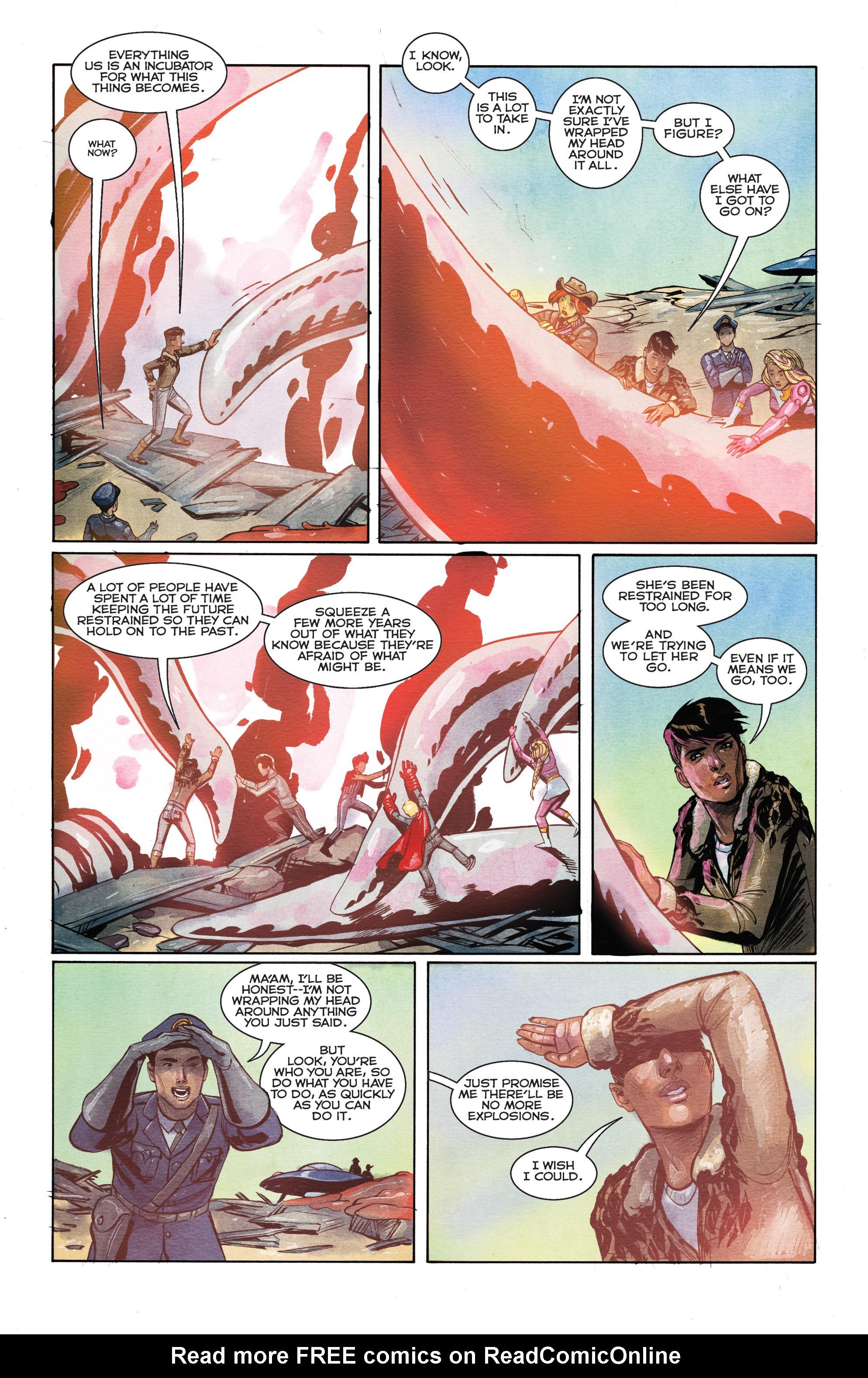 Read online Shutter comic -  Issue #28 - 18