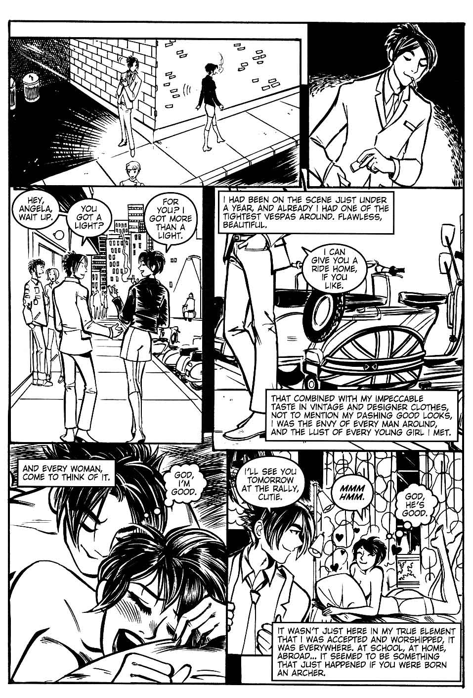 Read online Scooter Girl comic -  Issue #1 - 6