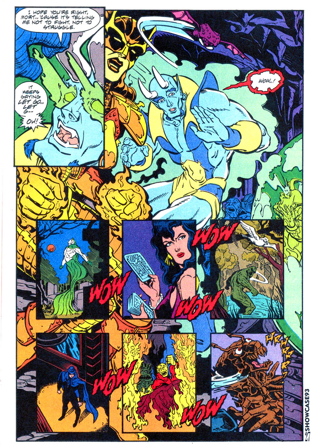 Read online Showcase '93 comic -  Issue #4 - 24
