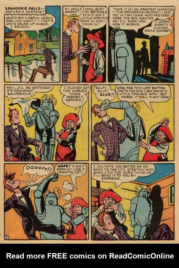 Read online Sensation (Mystery) Comics comic -  Issue #36 - 43