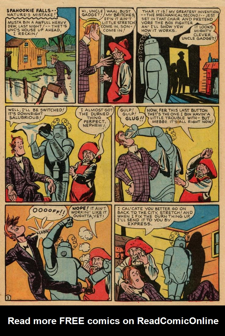 Sensation (Mystery) Comics issue 36 - Page 43