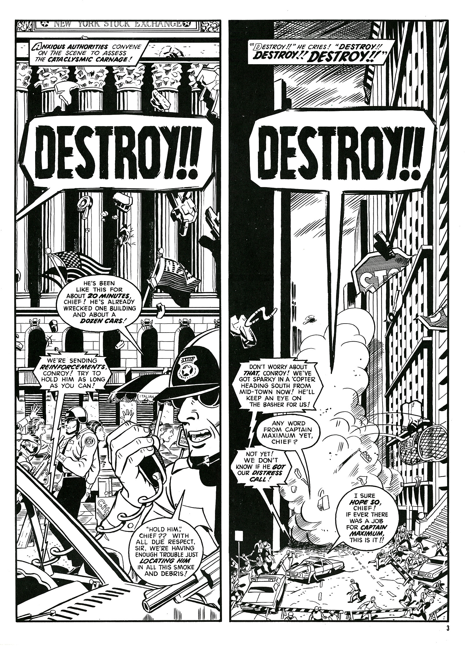 Read online Destroy!! comic -  Issue # Full - 5