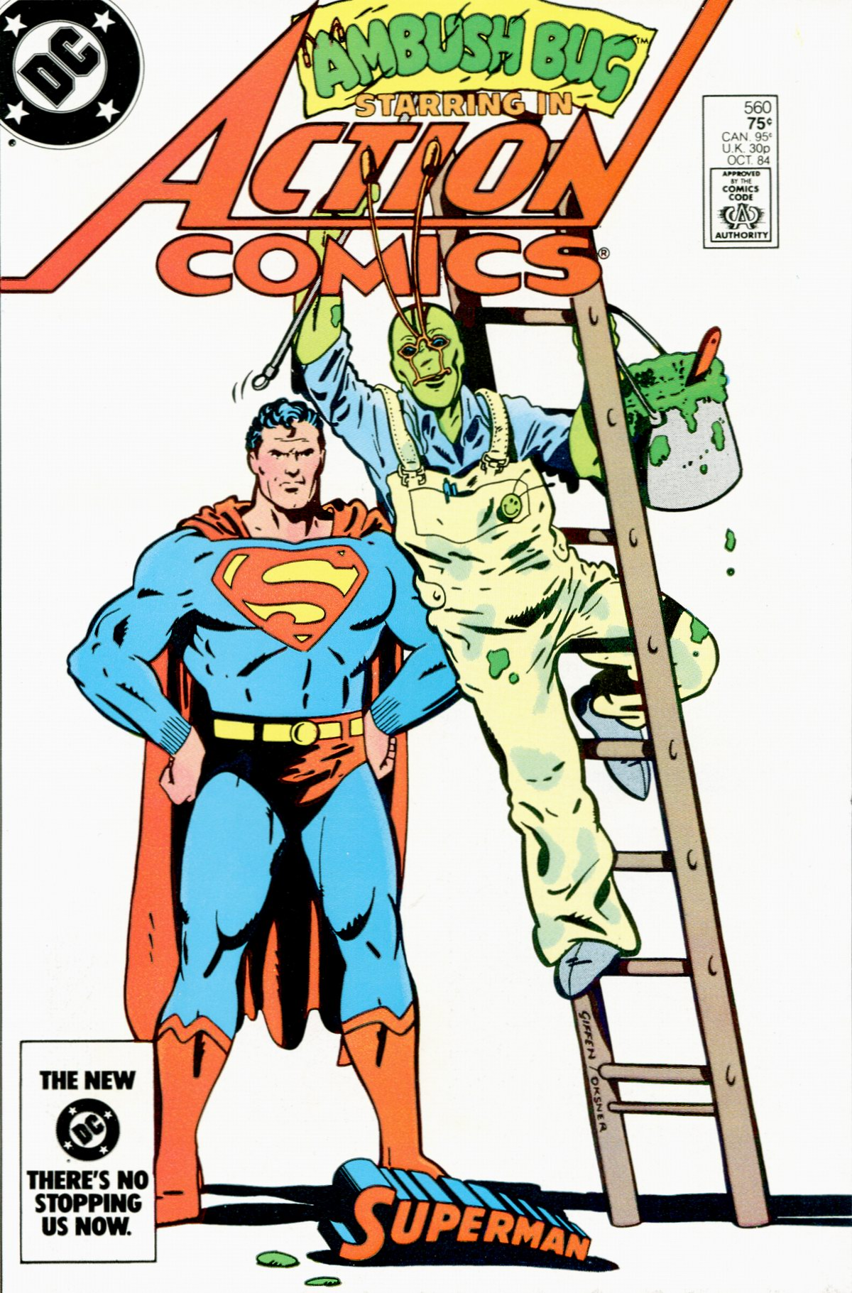 Read online Action Comics (1938) comic -  Issue #560 - 1