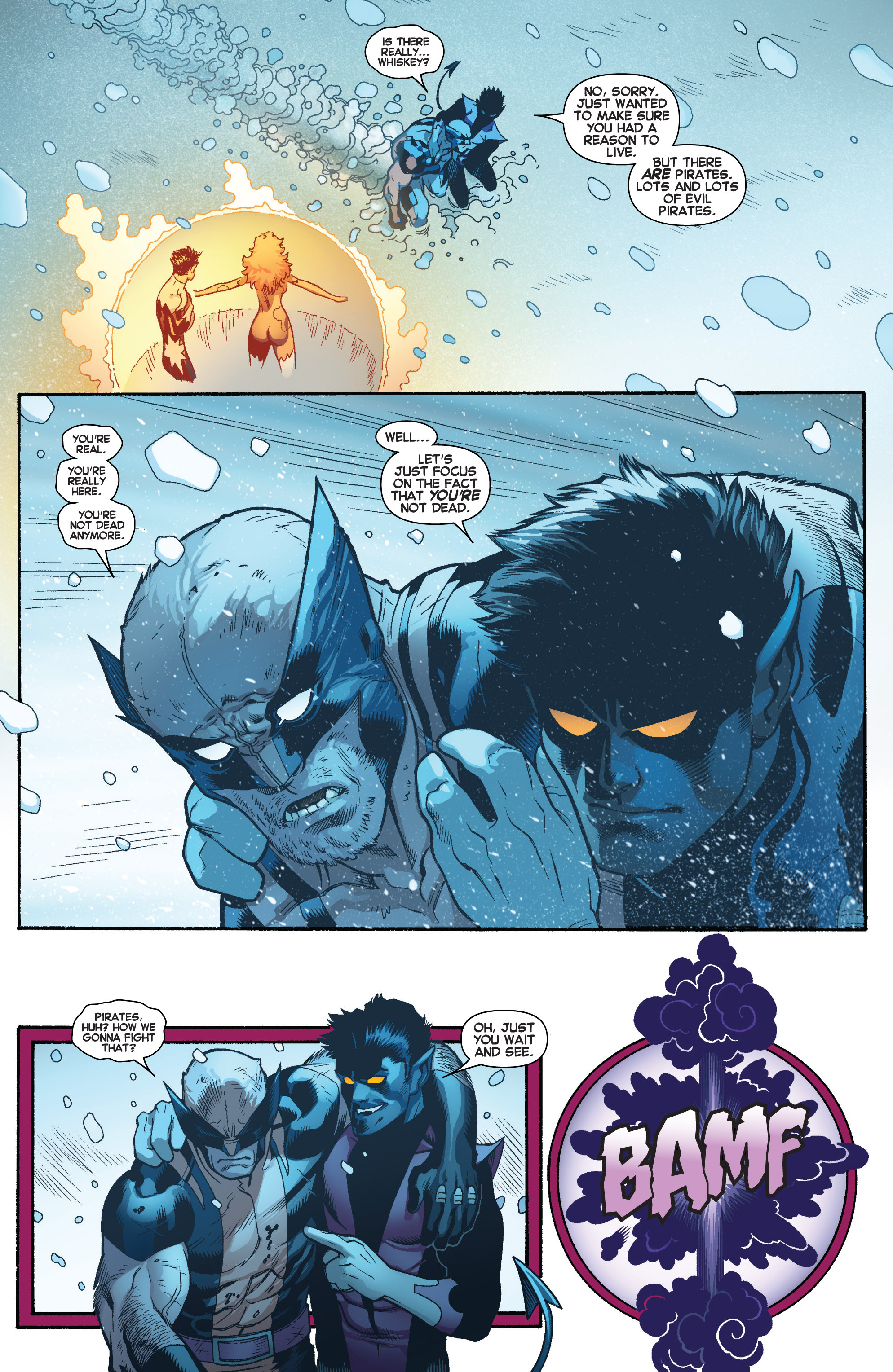 Read online Amazing X-Men (2014) comic -  Issue #4 - 21