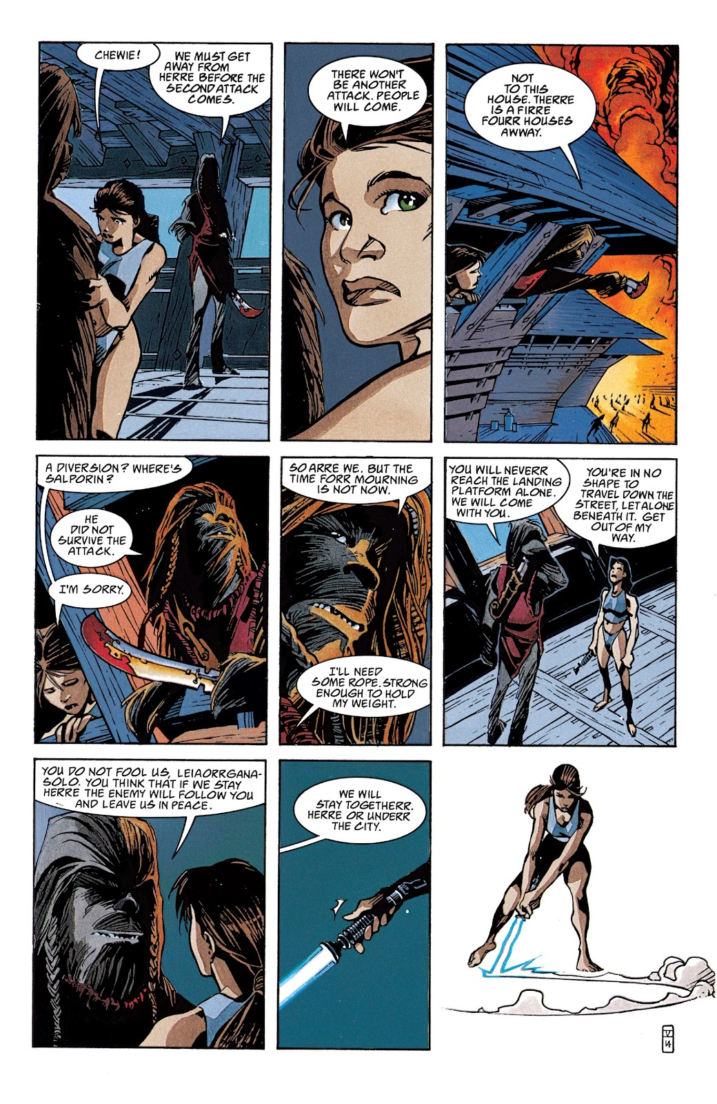 Read online Star Wars Legends: The New Republic - Epic Collection comic -  Issue # TPB 4 (Part 2) - 15