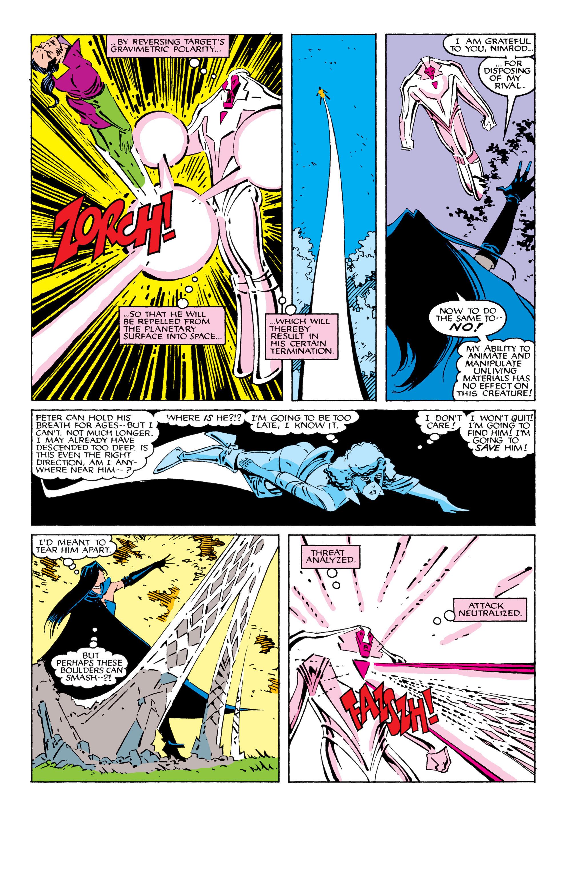 Read online Uncanny X-Men (1963) comic -  Issue #209 - 8