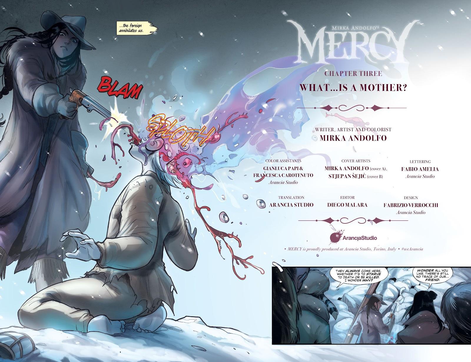 Read online Mirka Andolfo's Mercy comic -  Issue #3 - 4