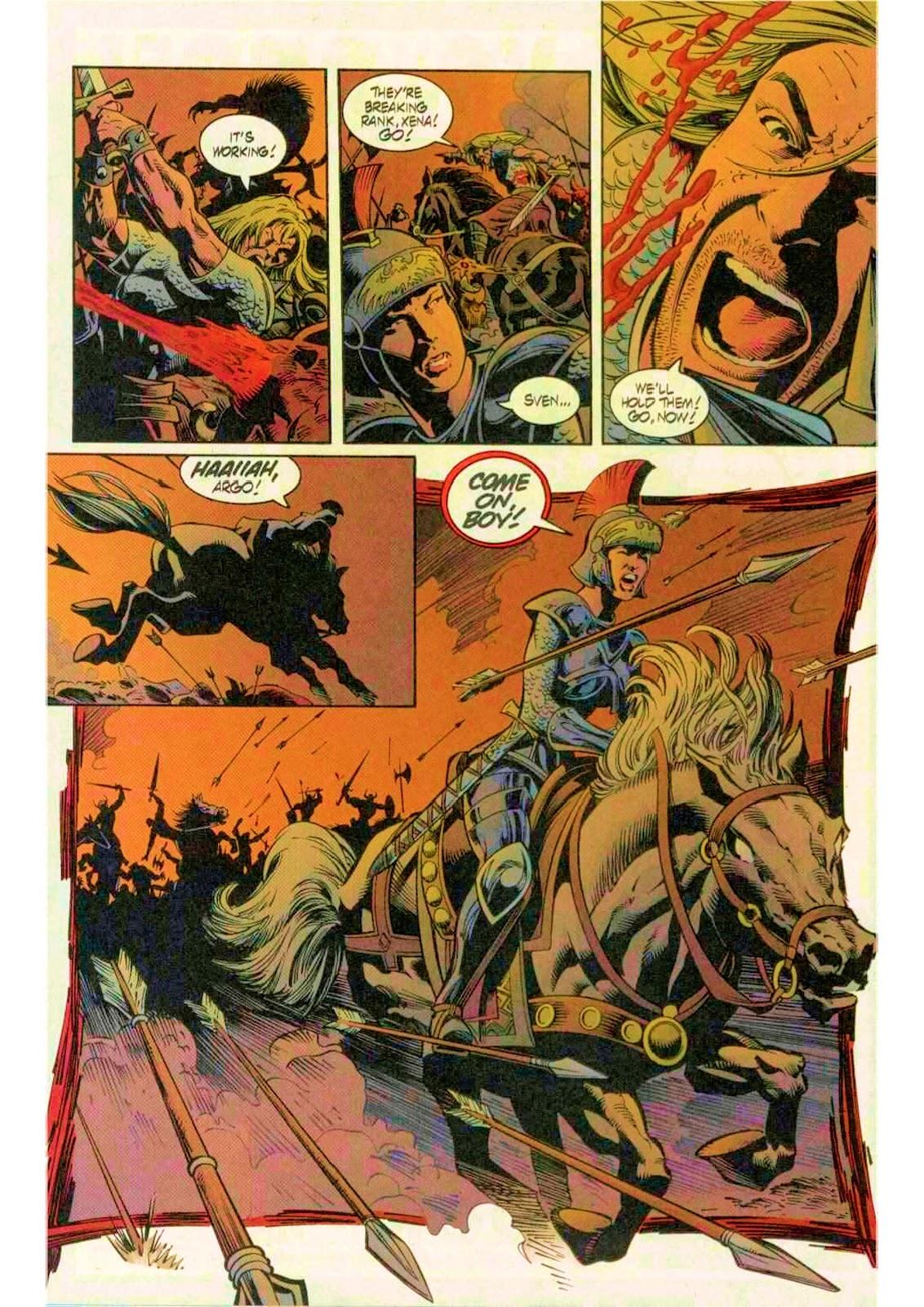 Xena: Warrior Princess (1999) Issue #12 #12 - English 16