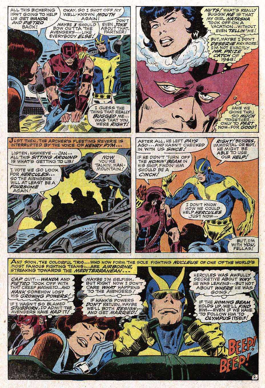 The Avengers (1963) 50 Page 3