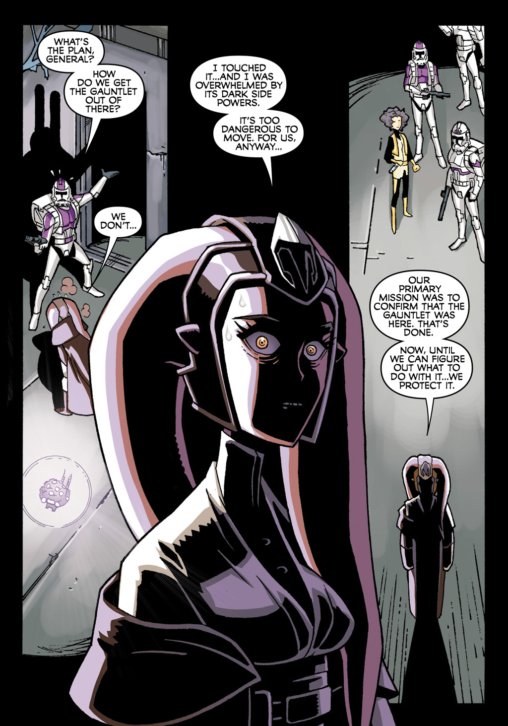 Read online Star Wars: The Clone Wars - Defenders of the Lost Temple comic -  Issue # Full - 39