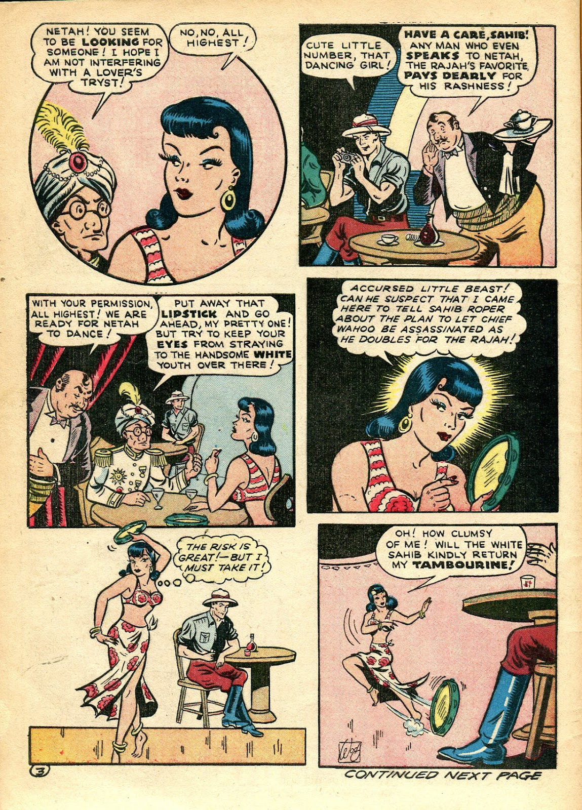 Read online Famous Funnies comic -  Issue #110 - 56