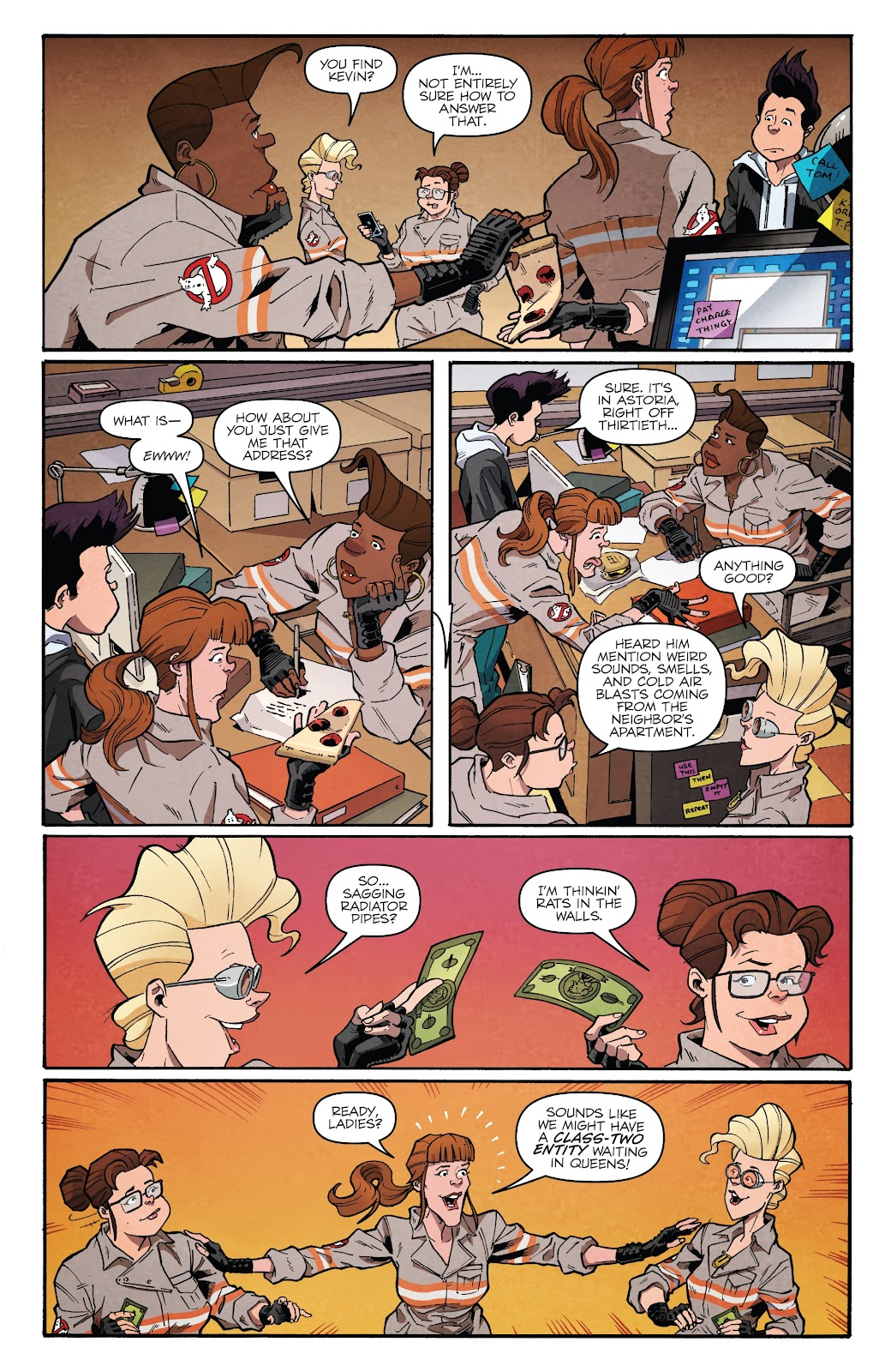 Read online Answer the Call Ghostbusters 35th Anniversary comic -  Issue # Full - 9