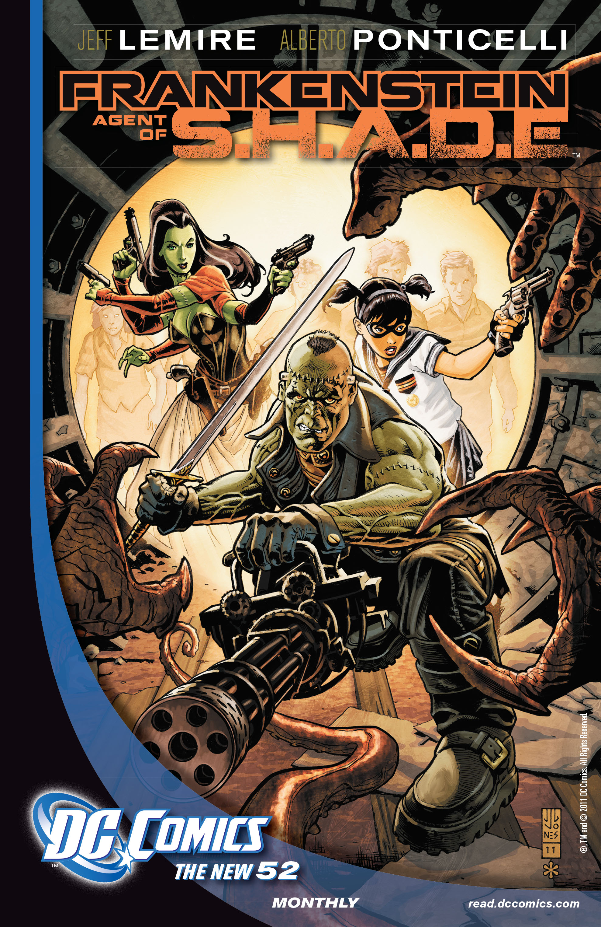 Read online All-Star Western (2011) comic -  Issue #3 - 28