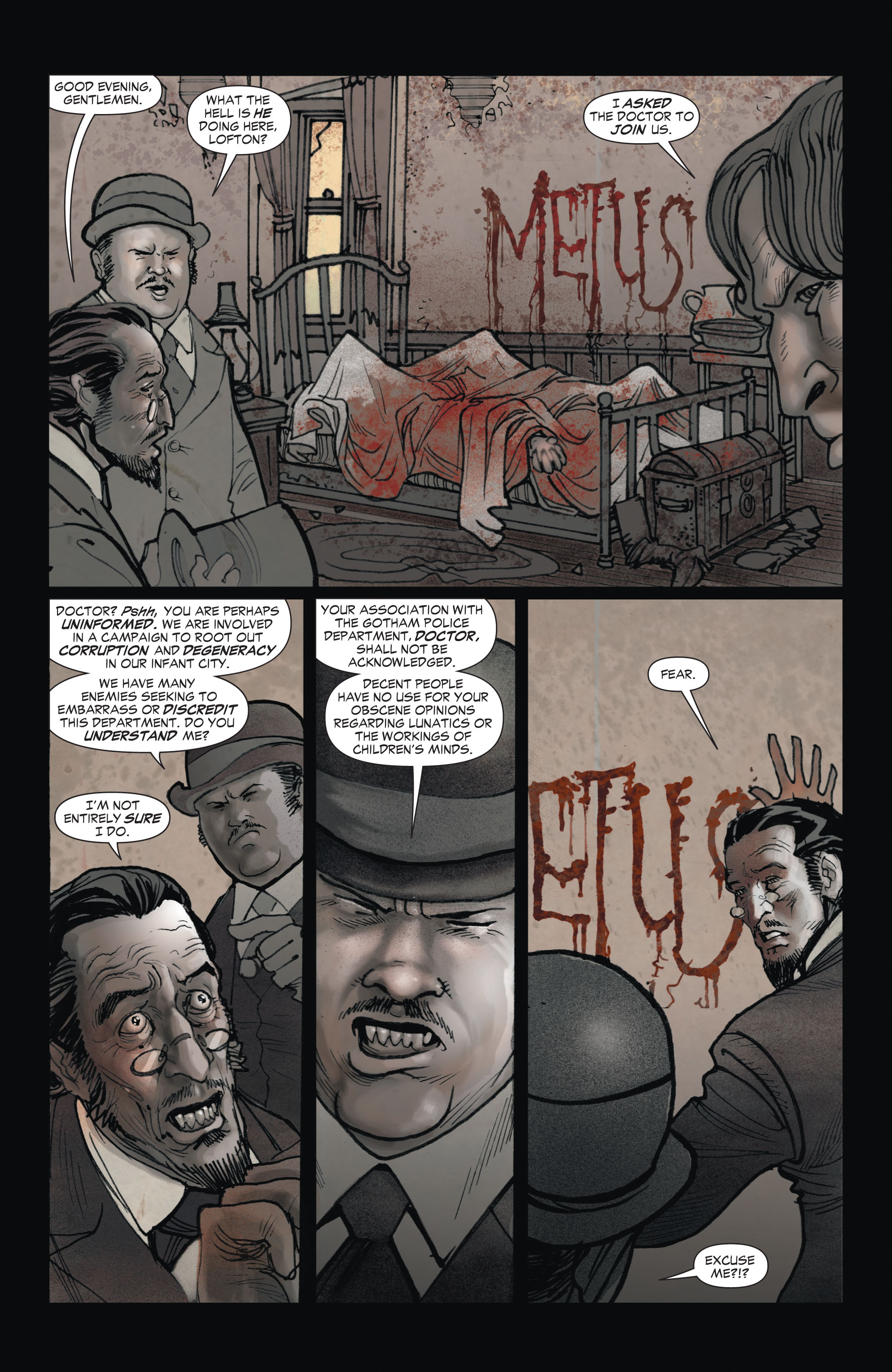 Read online All-Star Western (2011) comic -  Issue #1 - 7