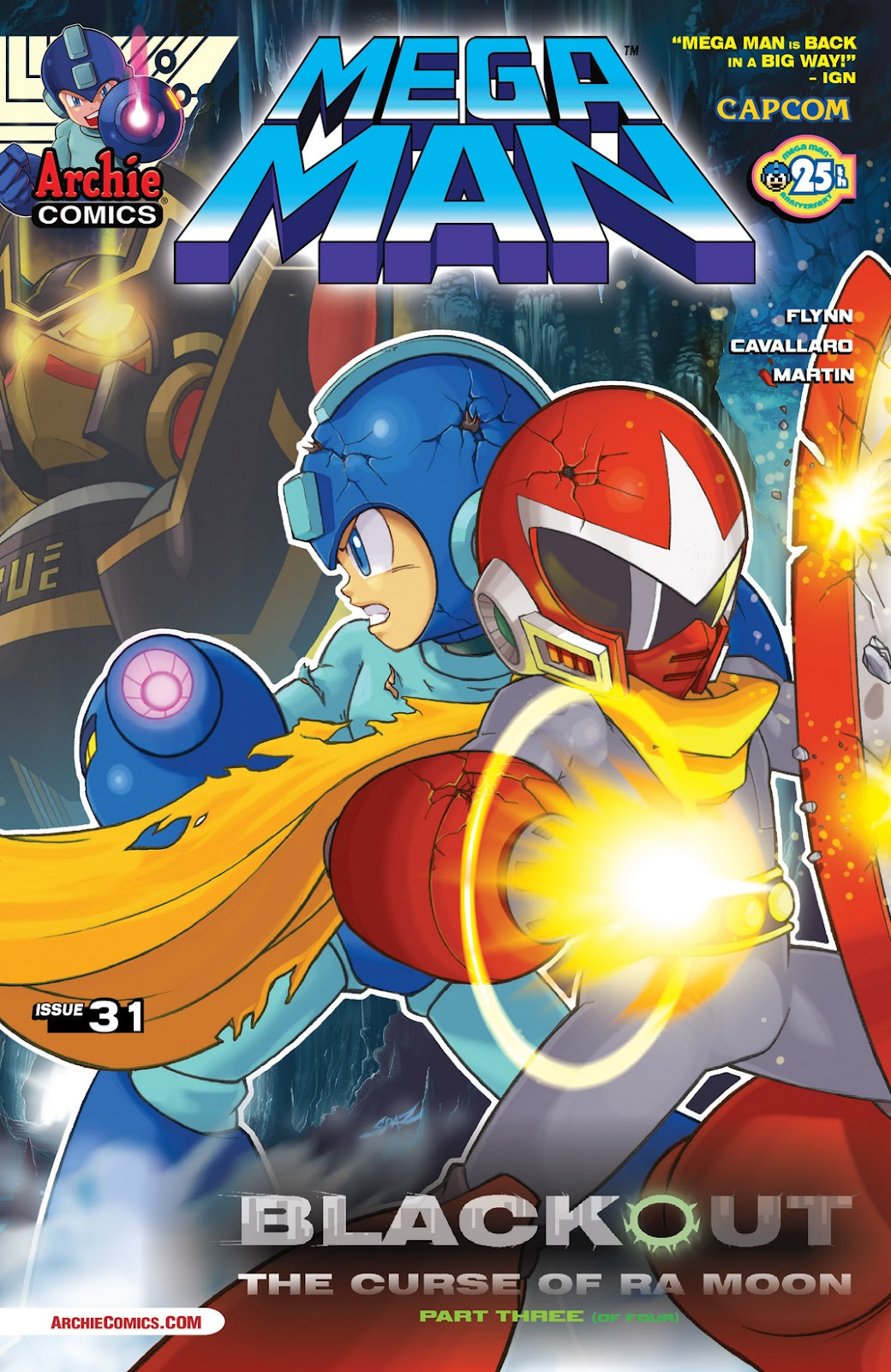 Mega Man (2011) issue 31 - Page 1