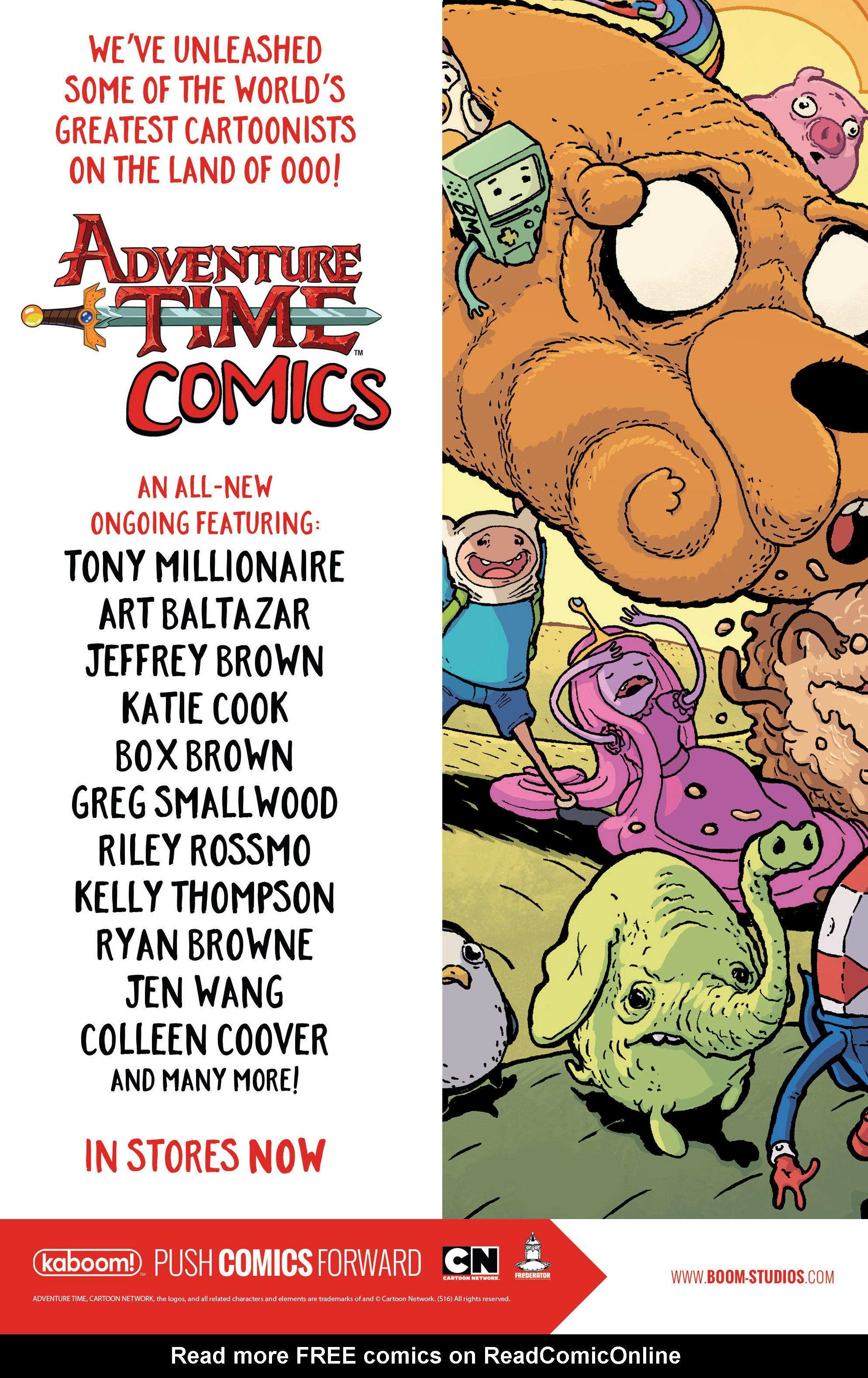 Read online Adventure Time Comics comic -  Issue #2 - 26