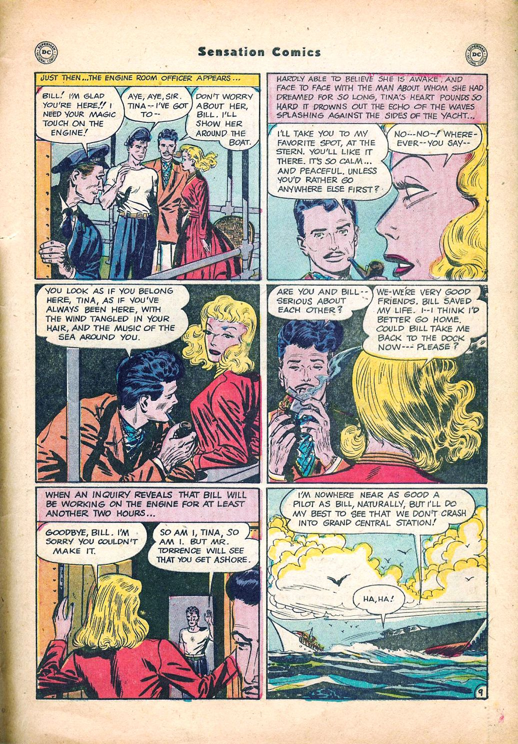 Read online Sensation (Mystery) Comics comic -  Issue #95 - 45