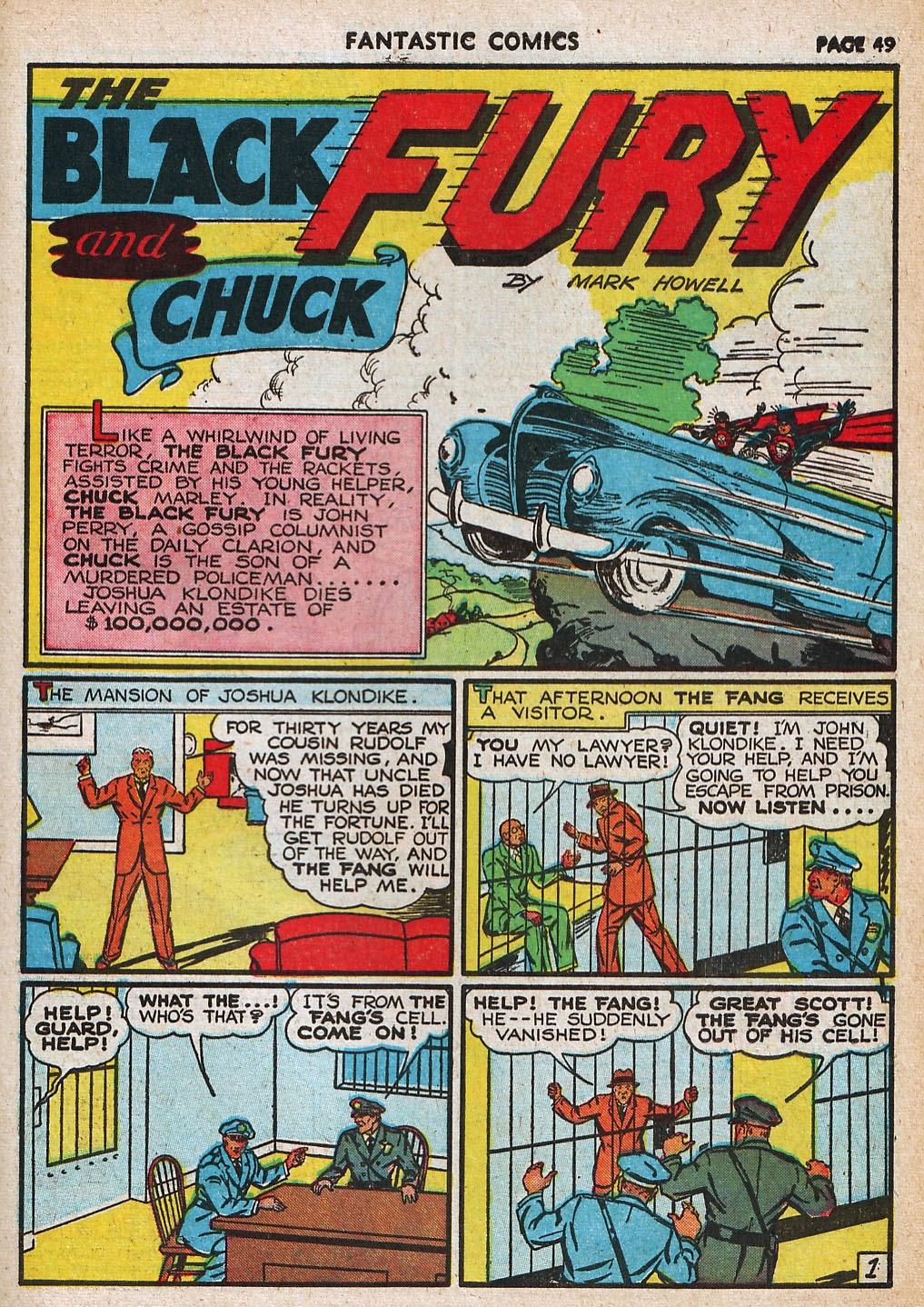 Read online Fantastic Comics comic -  Issue #20 - 49