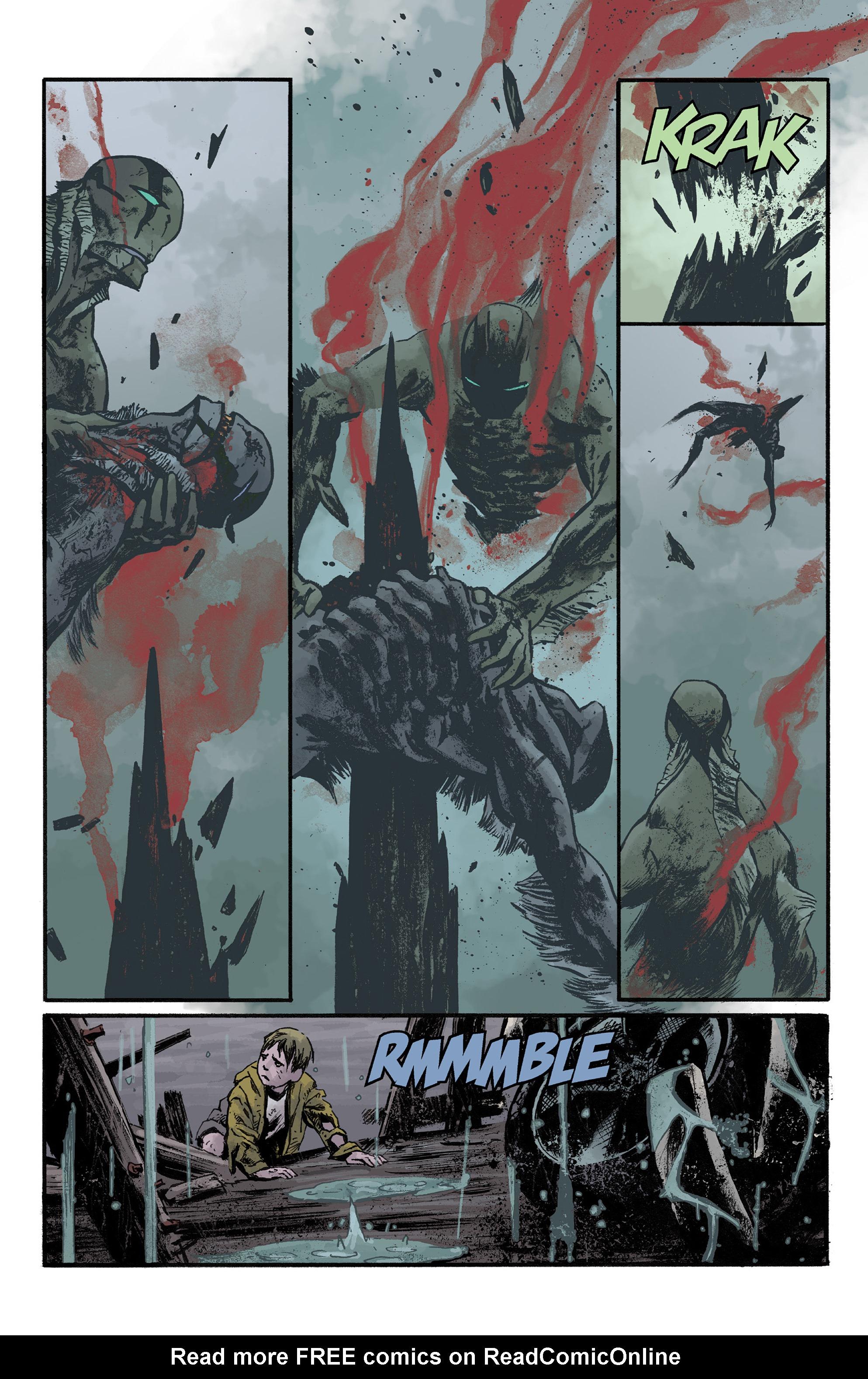 Read online Abe Sapien comic -  Issue #36 - 21