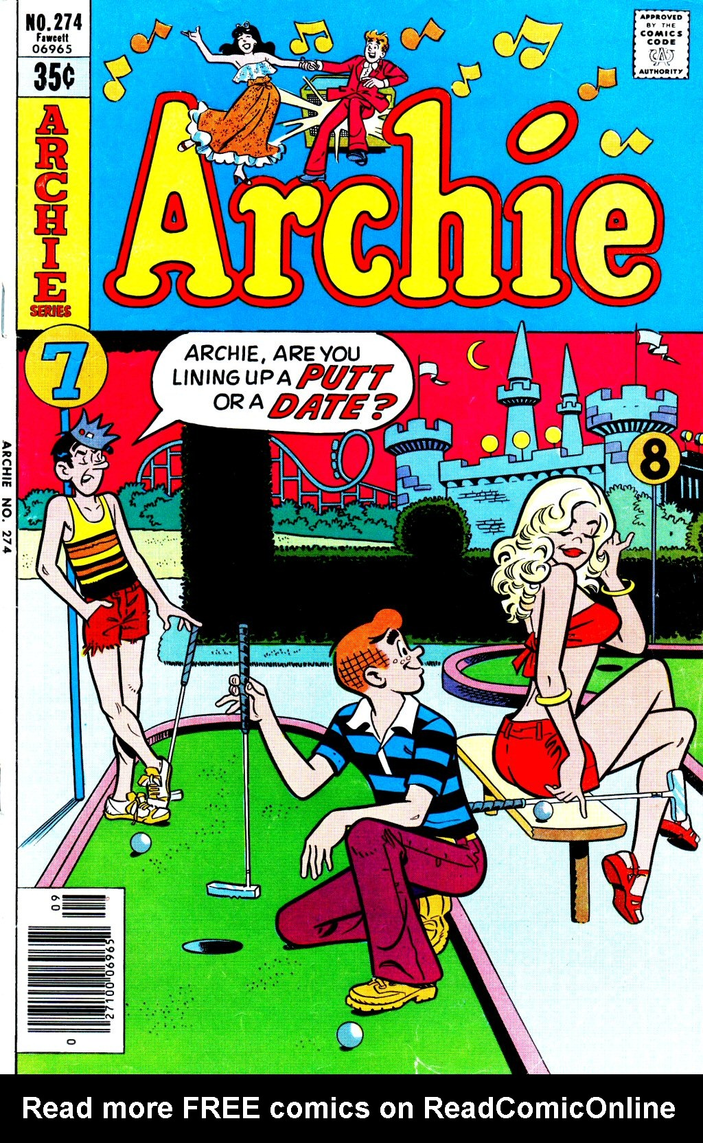 Read online Archie (1960) comic -  Issue #274 - 1