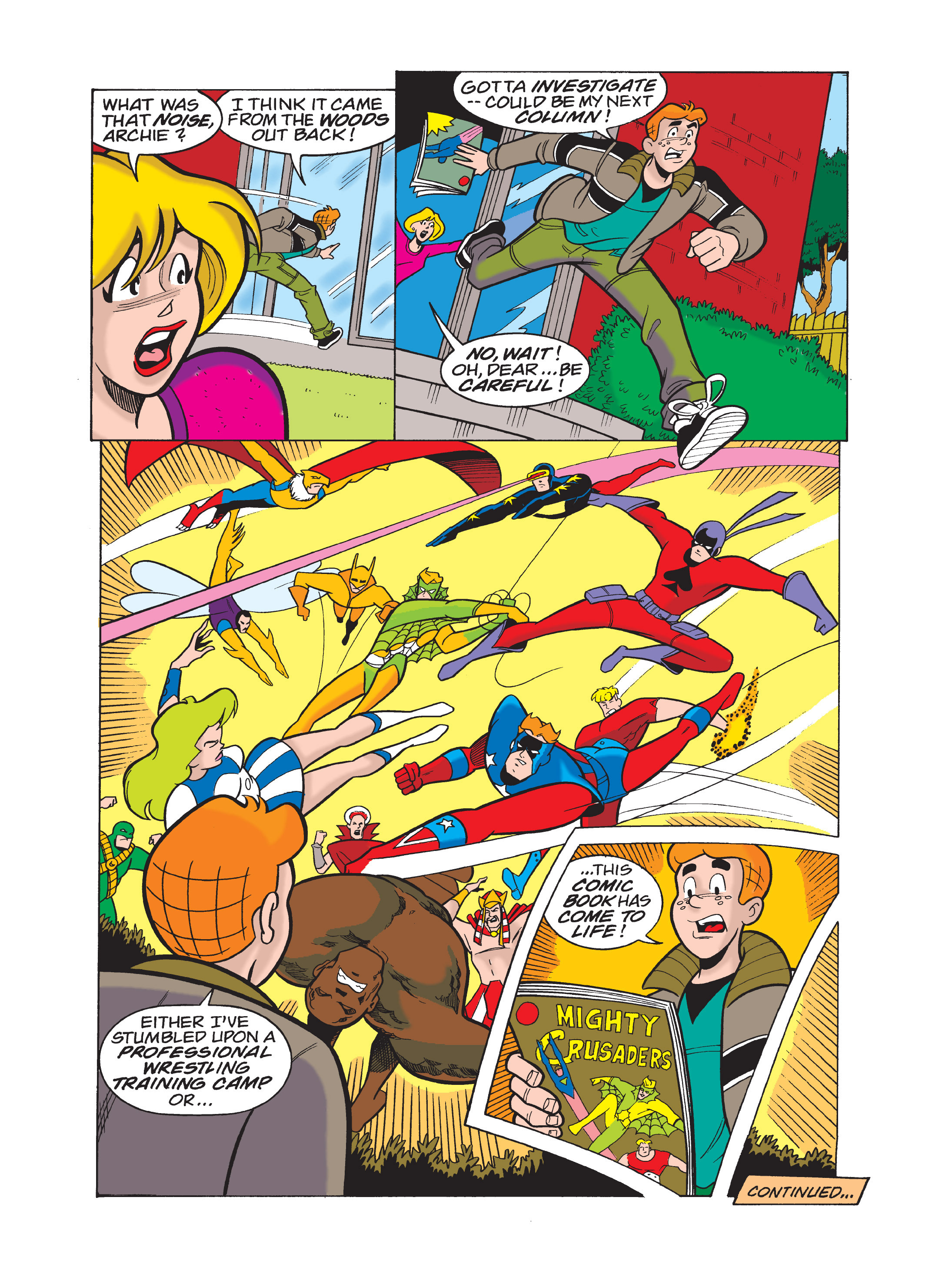 Read online Archie 75th Anniversary Digest comic -  Issue #1 - 121