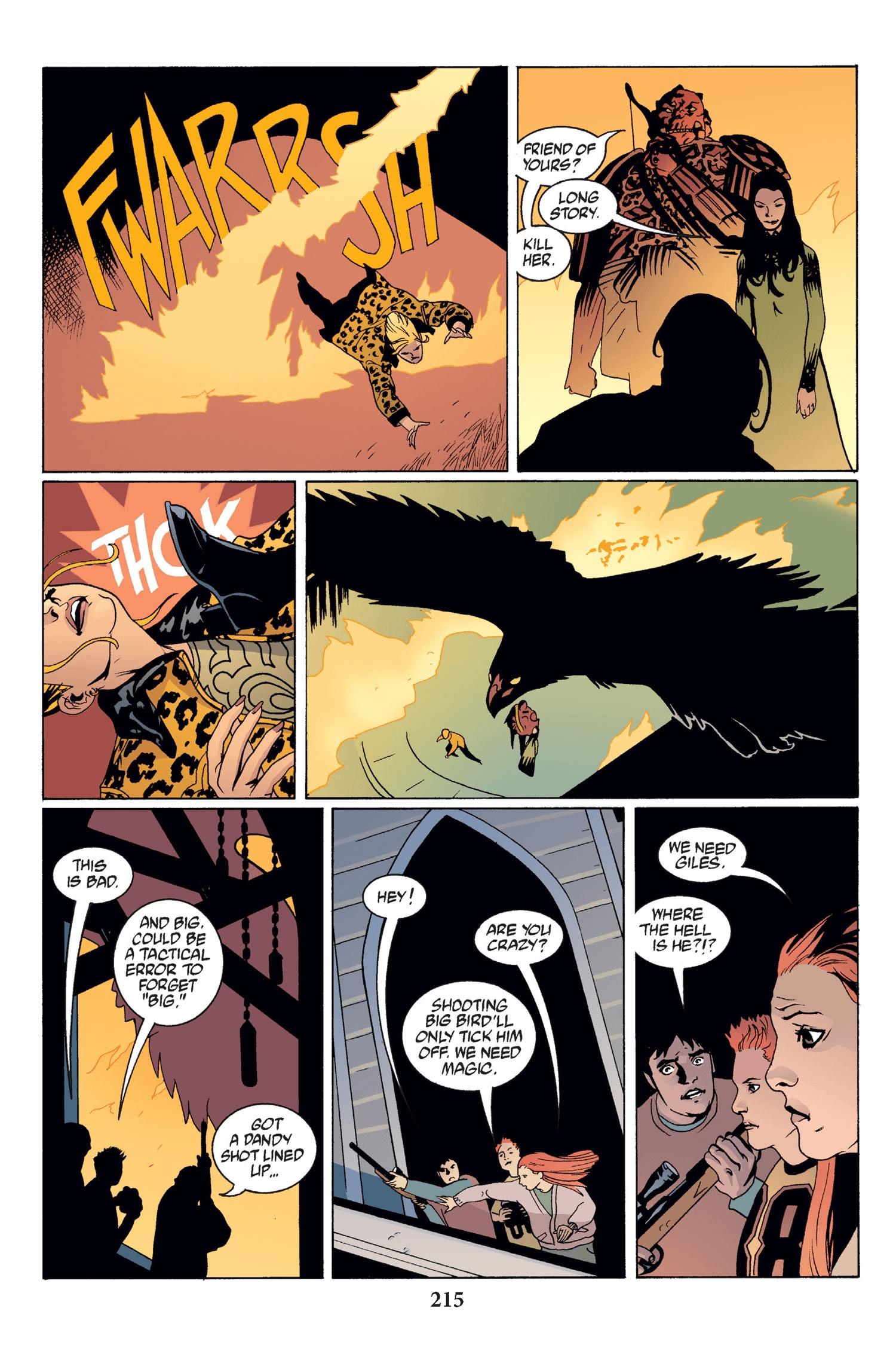 Read online Buffy the Vampire Slayer: Omnibus comic -  Issue # TPB 2 - 209