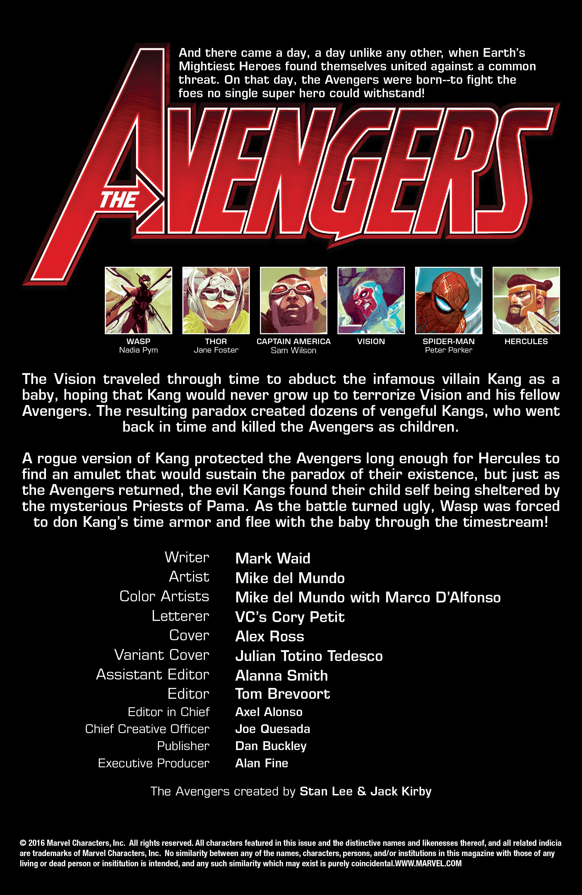 Read online Avengers (2016) comic -  Issue #3 - 2