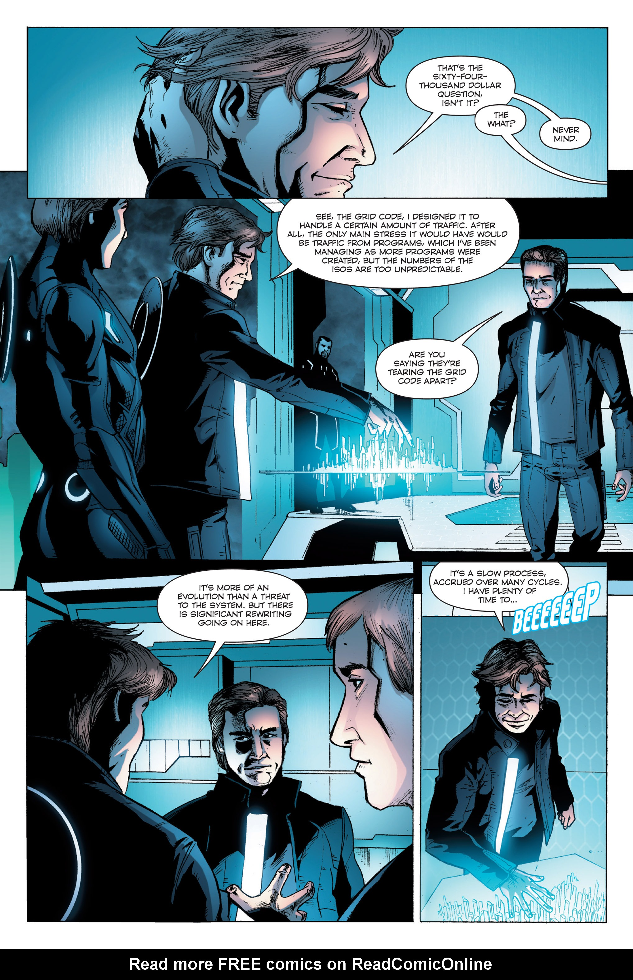 Read online TRON: Betrayal comic -  Issue # TPB - 57