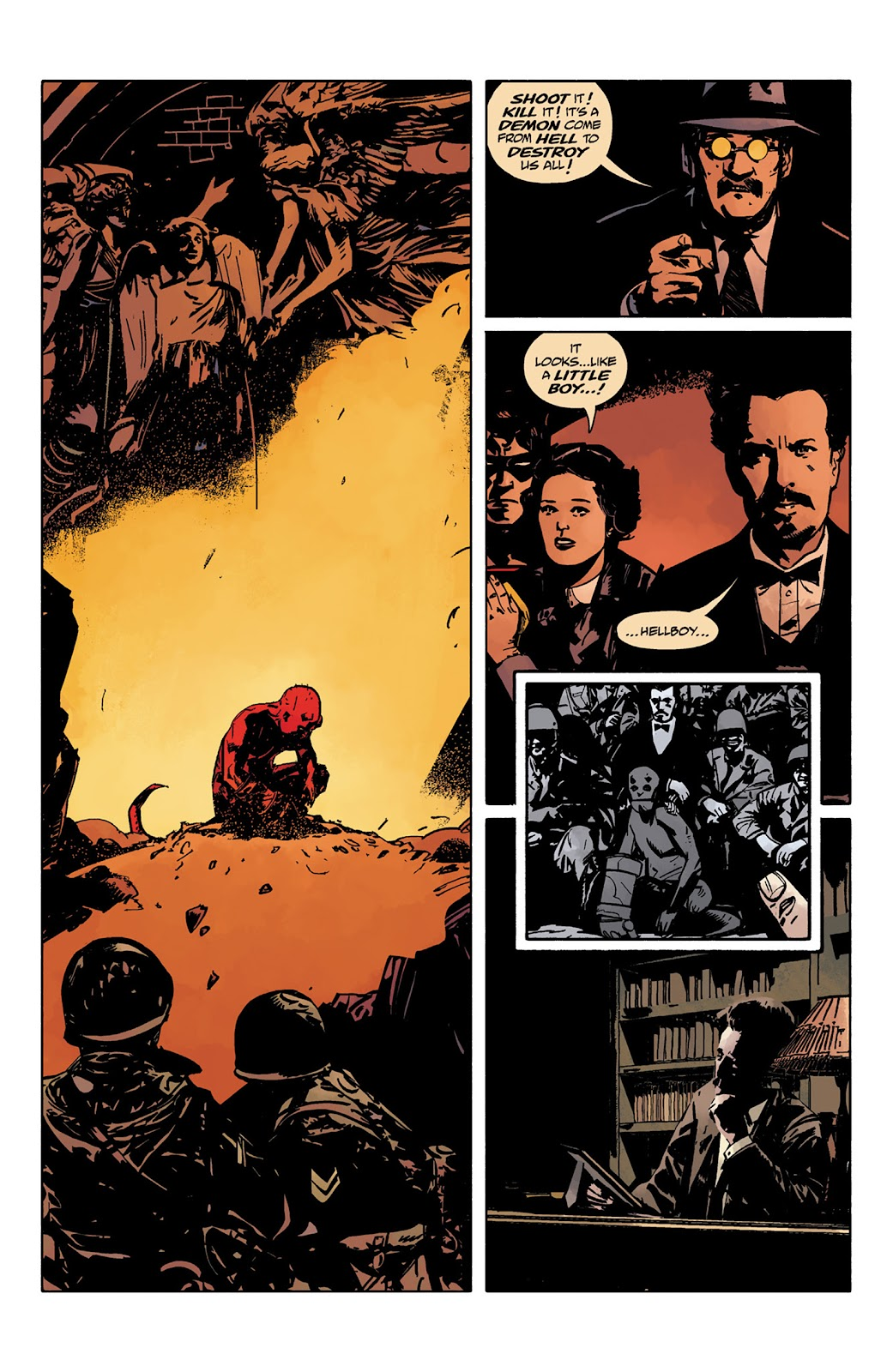 Read online Hellboy and the B.P.R.D. comic -  Issue # _TPB - 20