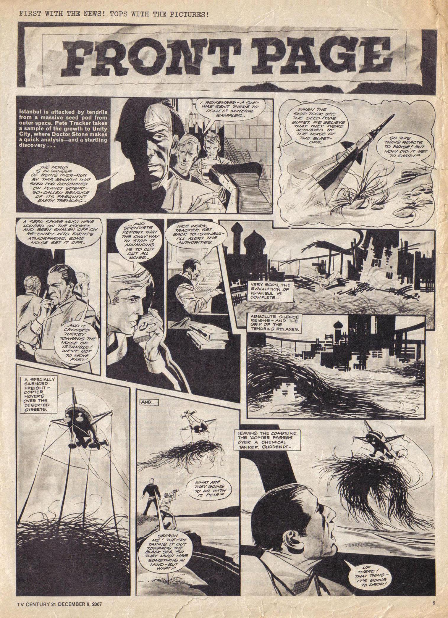 Read online TV Century 21 (TV 21) comic -  Issue #151 - 10