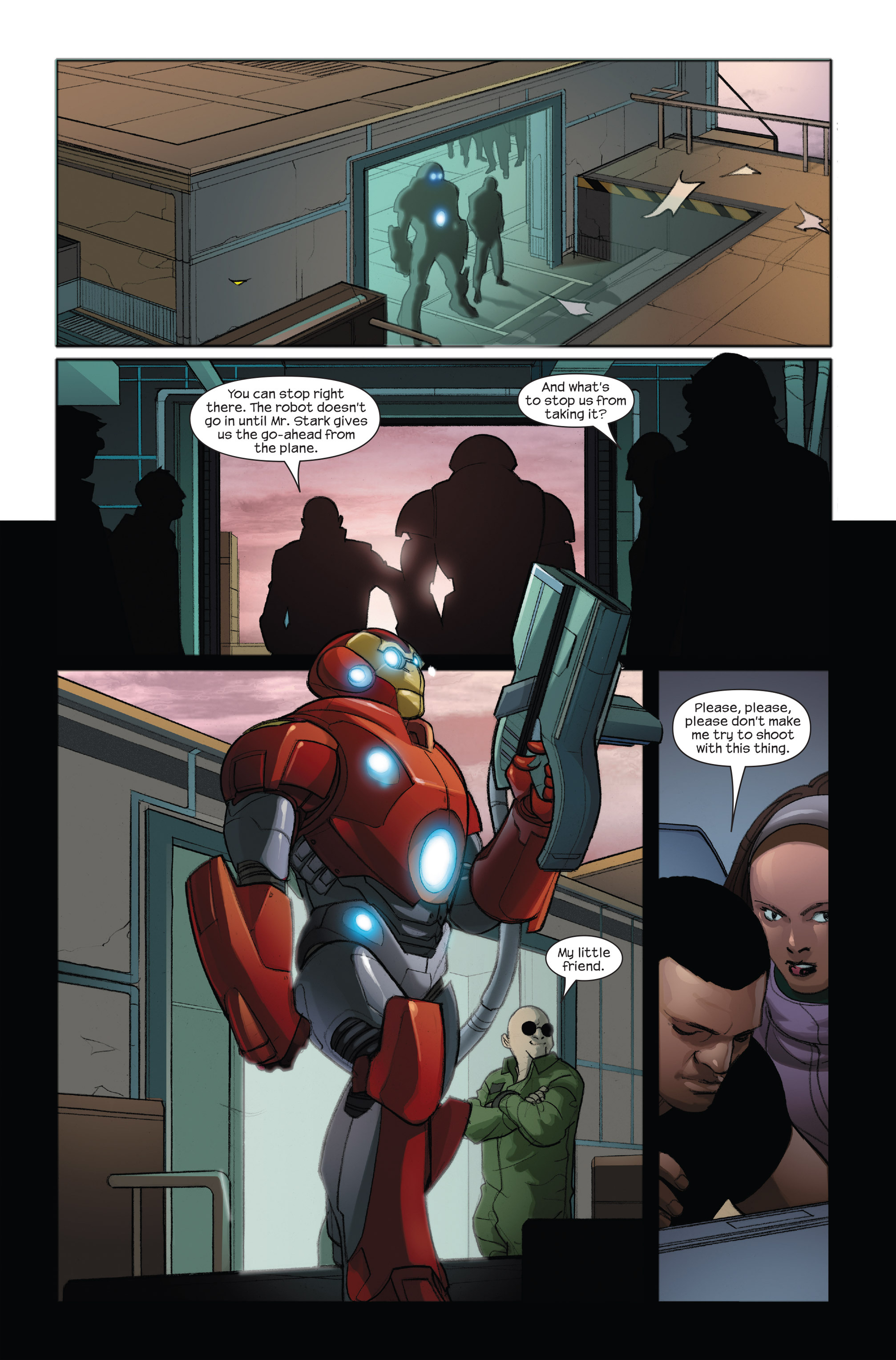 Read online Ultimate Iron Man II comic -  Issue #3 - 13