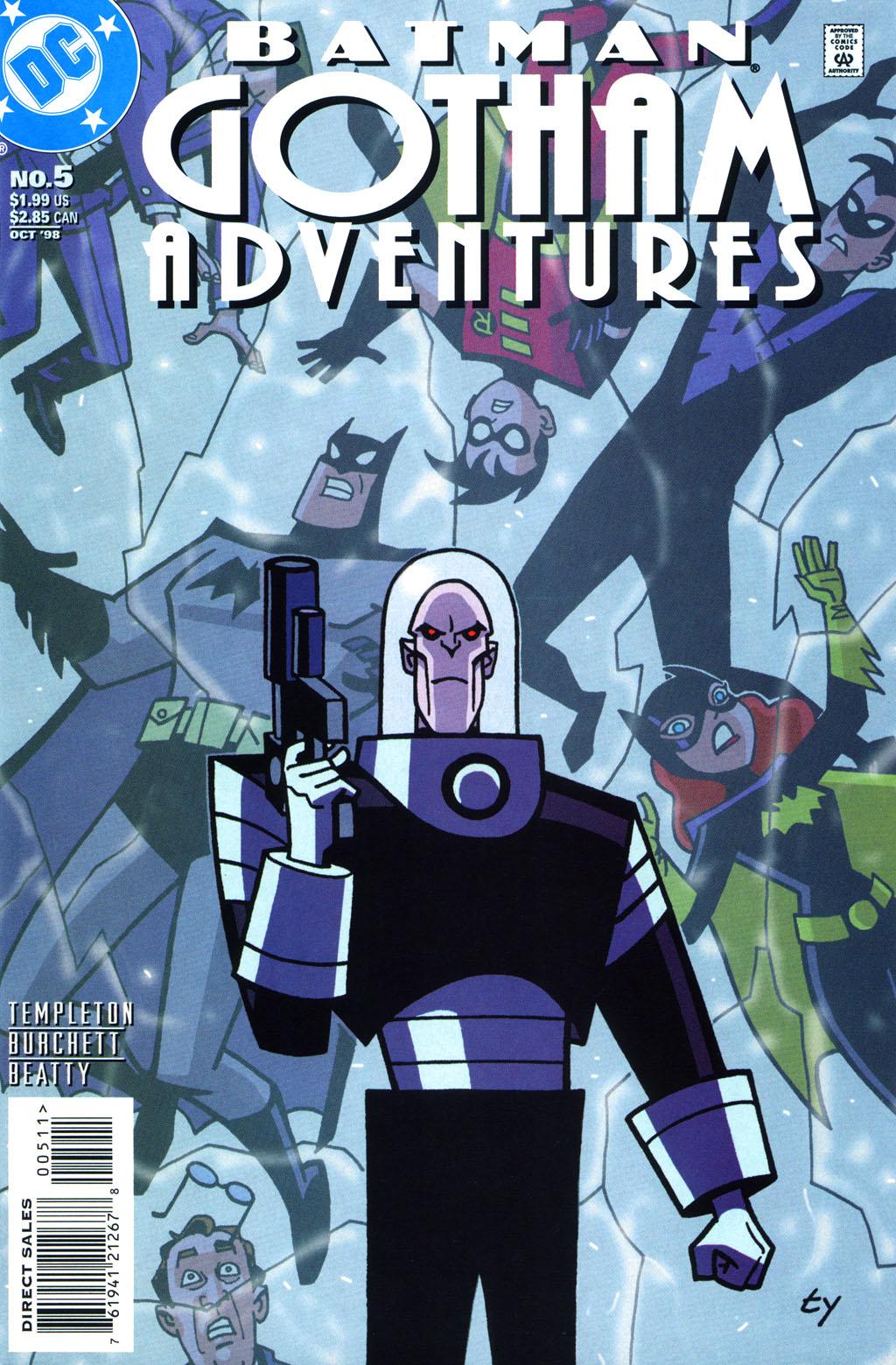 Batman: Gotham Adventures 5 Page 1
