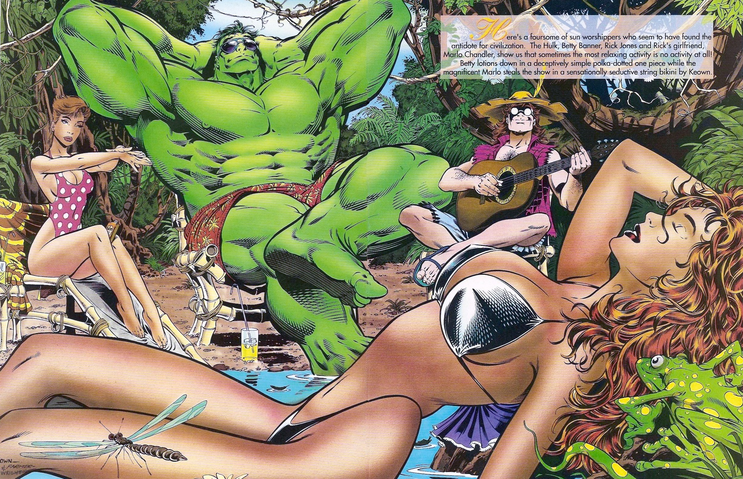 Read online Marvel Swimsuit Special comic -  Issue #1 - 11