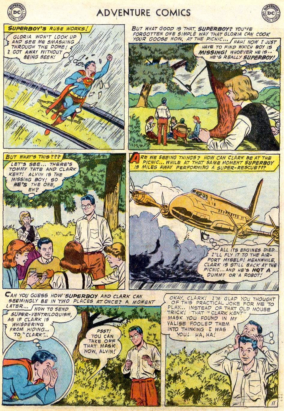 Read online Adventure Comics (1938) comic -  Issue #246 - 13