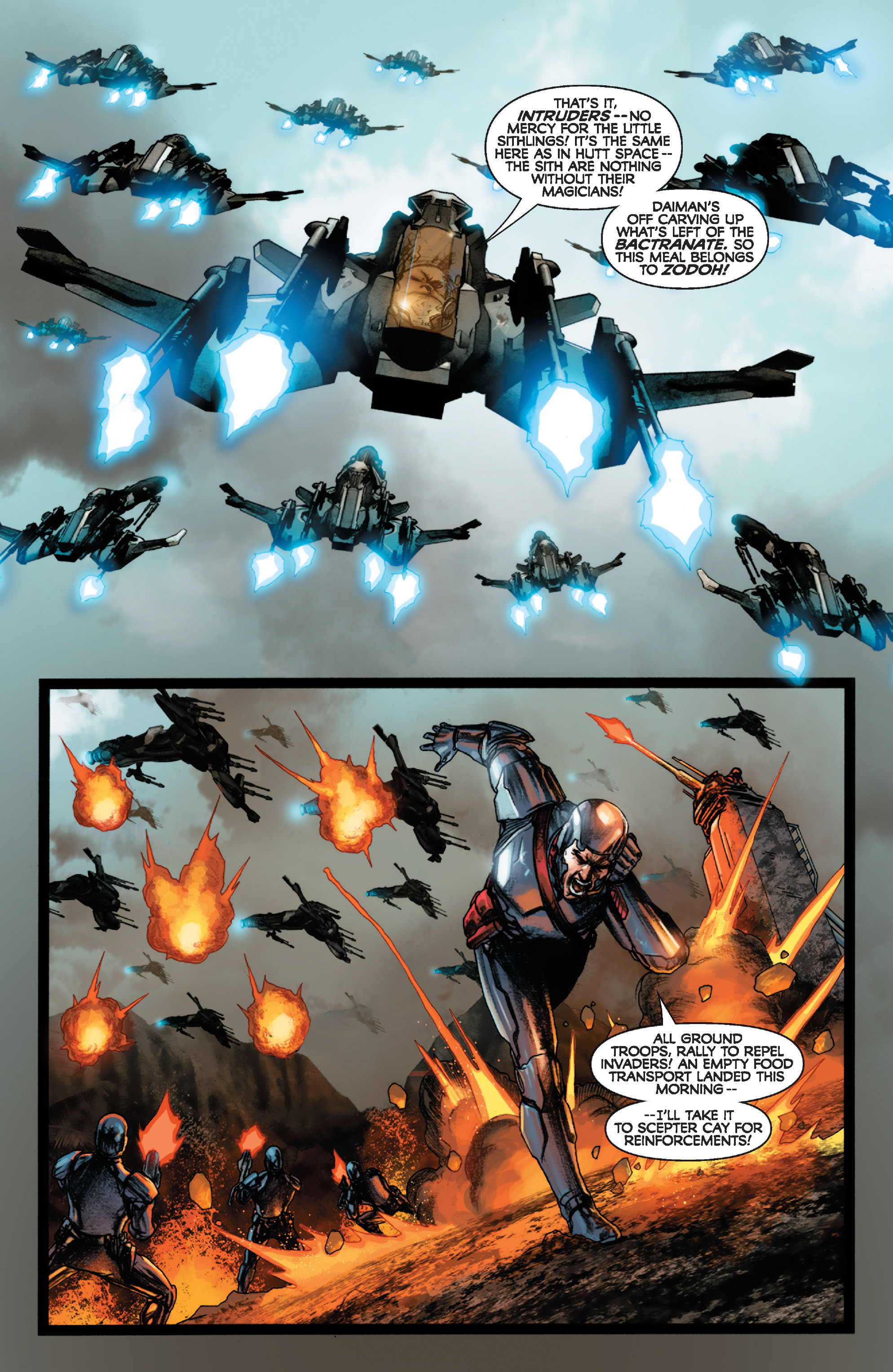 Read online Star Wars: Knight Errant - Deluge comic -  Issue #1 - 5