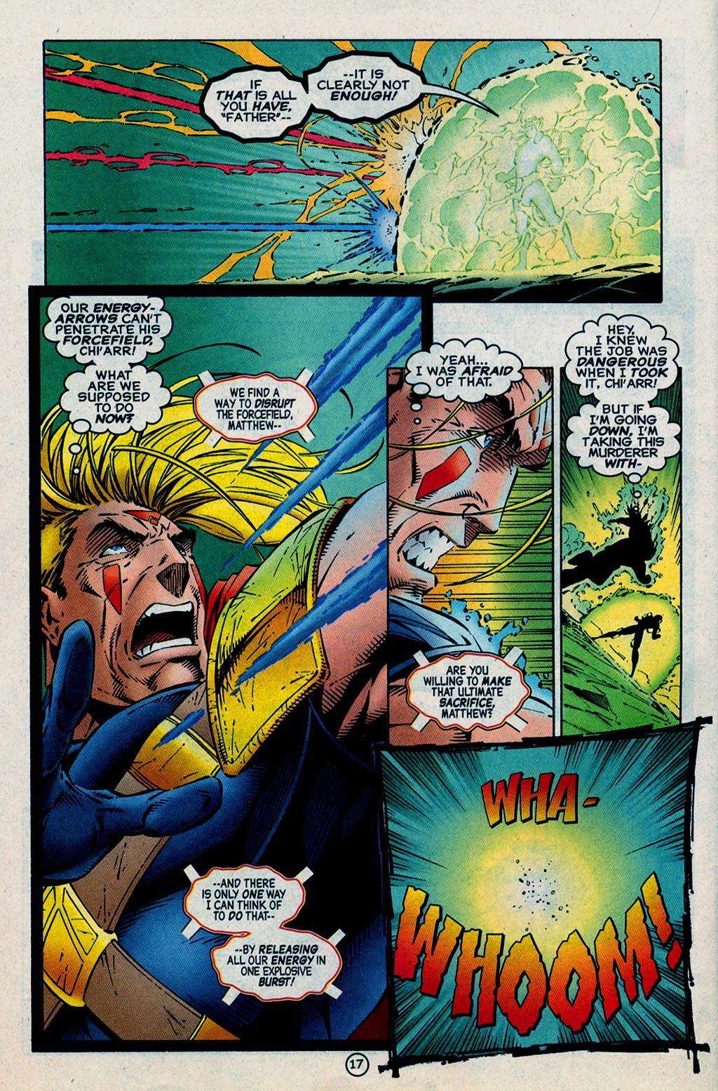 Read online UltraForce (1995) comic -  Issue #15 - 18