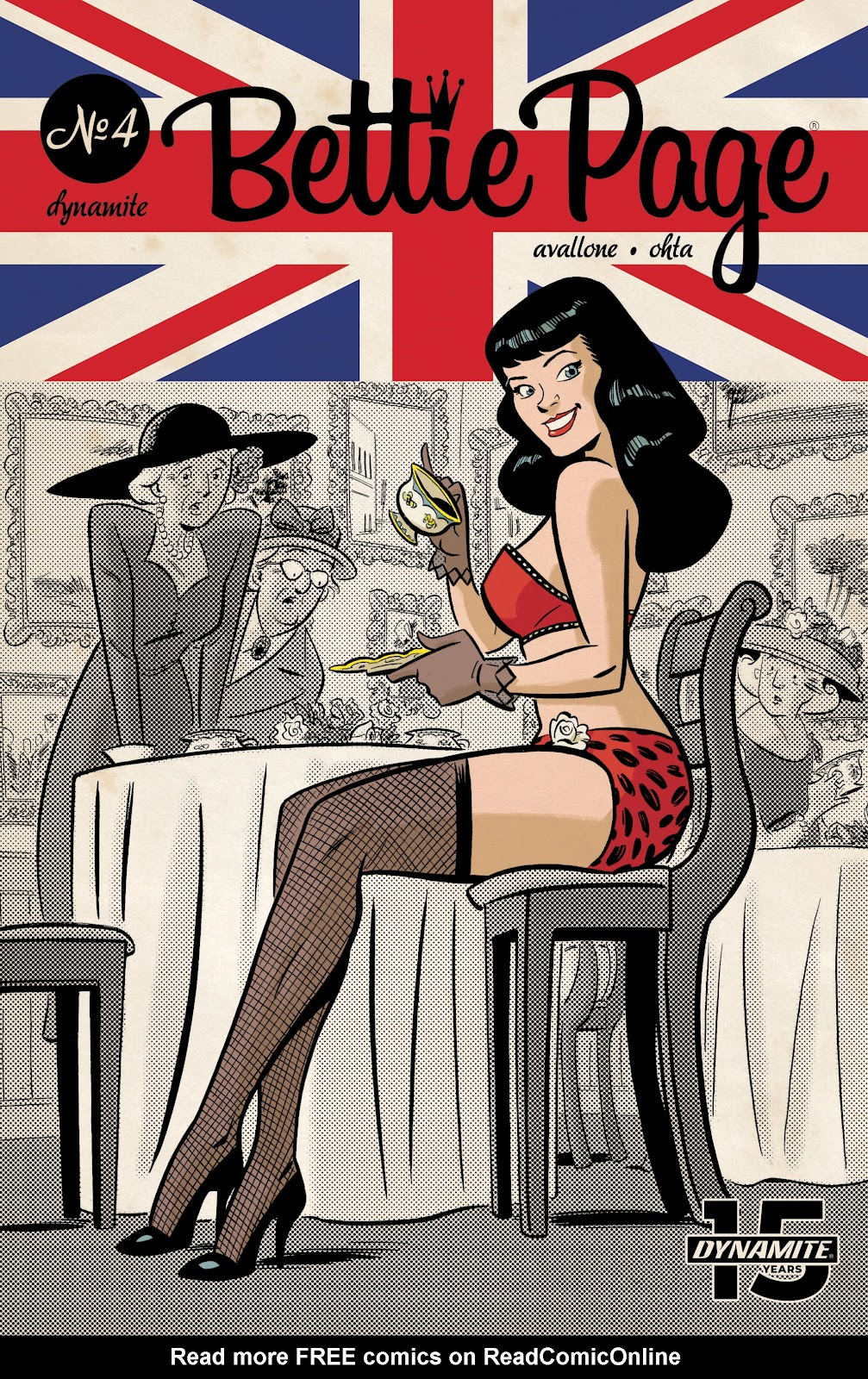 Read online Bettie Page (2018) comic -  Issue #4 - 2