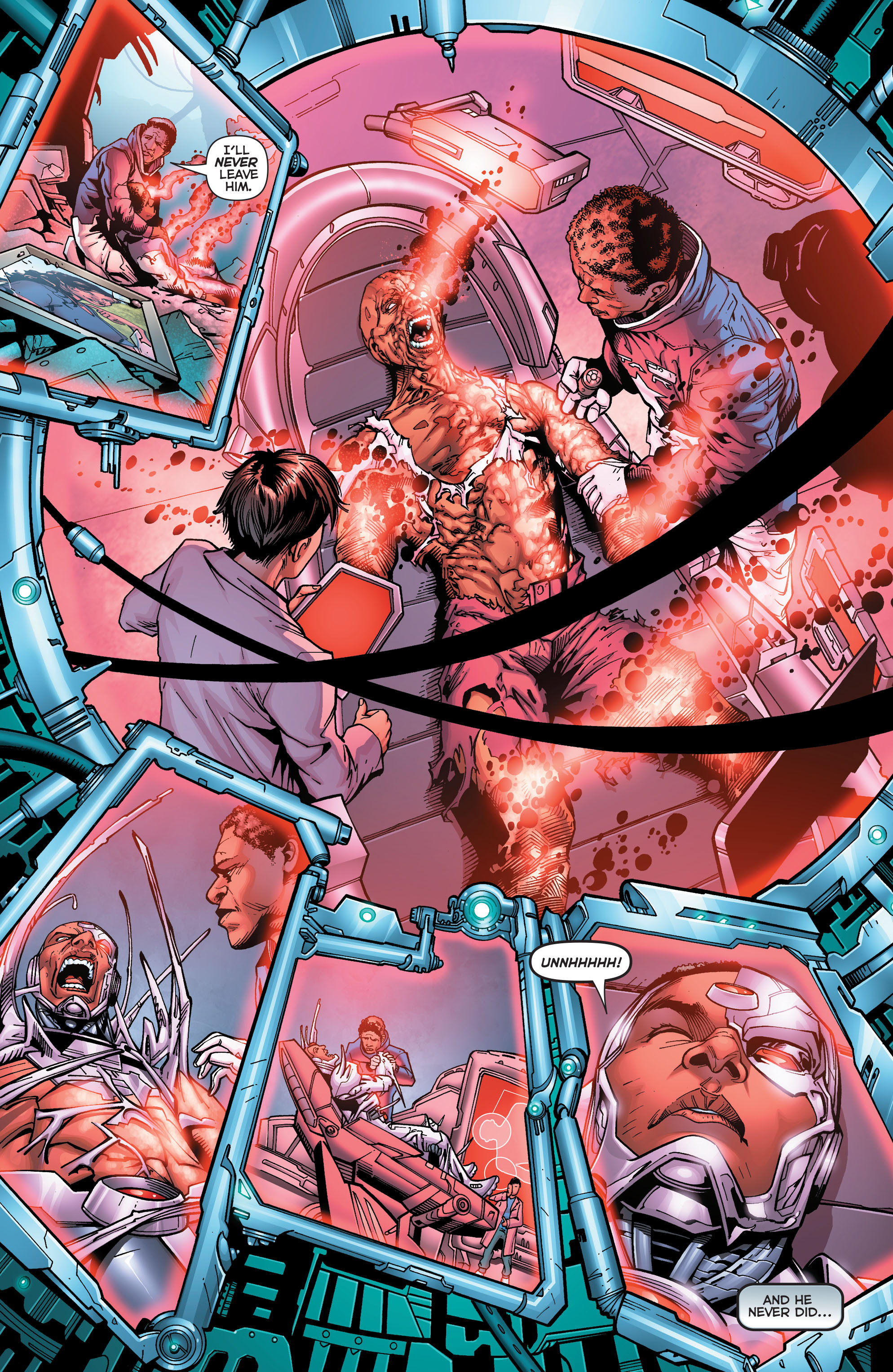 Read online Secret Origins (2014) comic -  Issue #5 - 9