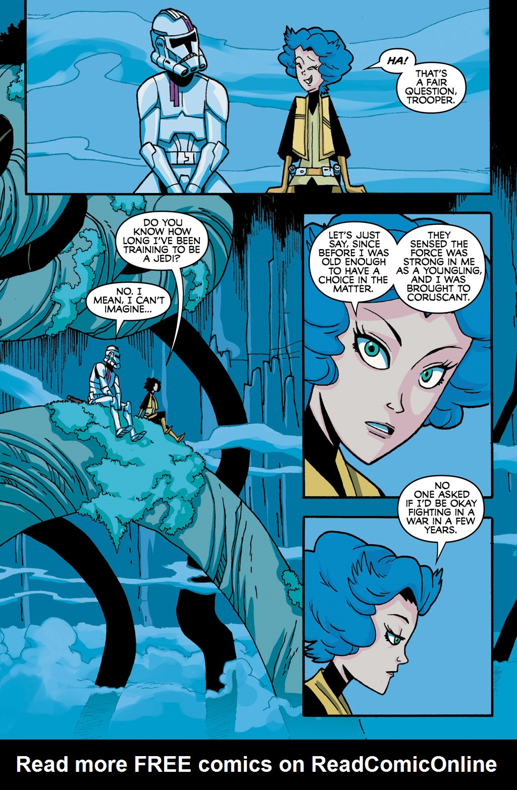 Read online Star Wars: The Clone Wars - Defenders of the Lost Temple comic -  Issue # Full - 43