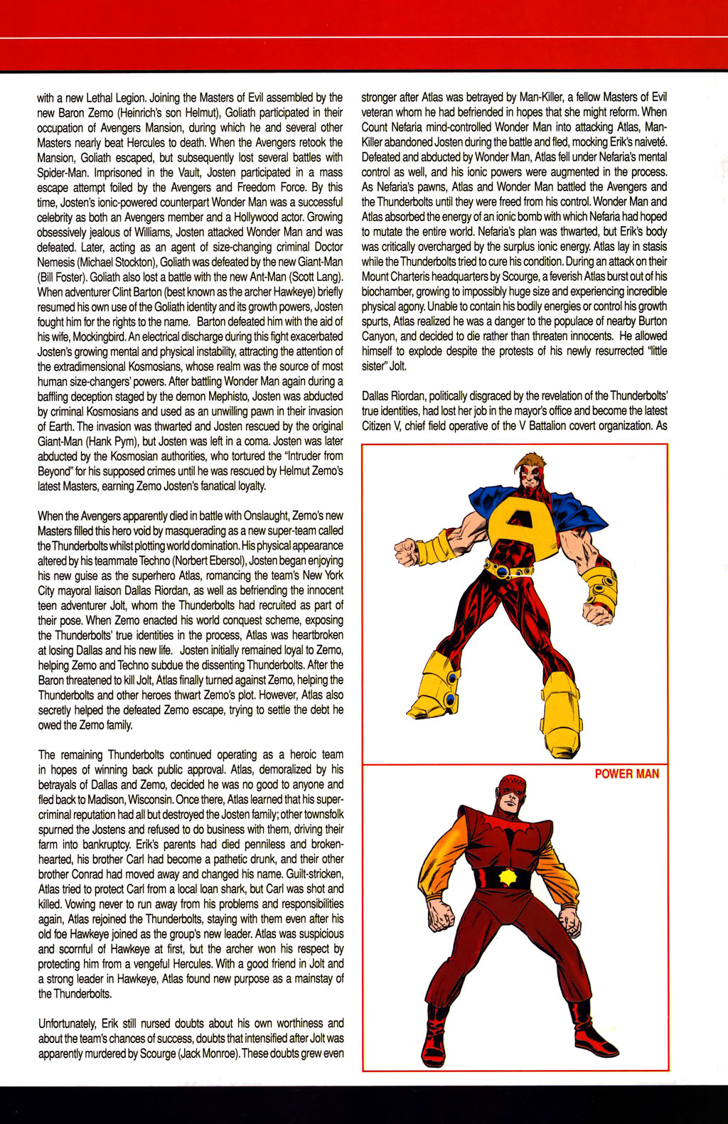Read online All-New Official Handbook of the Marvel Universe A to Z comic -  Issue #1 - 37