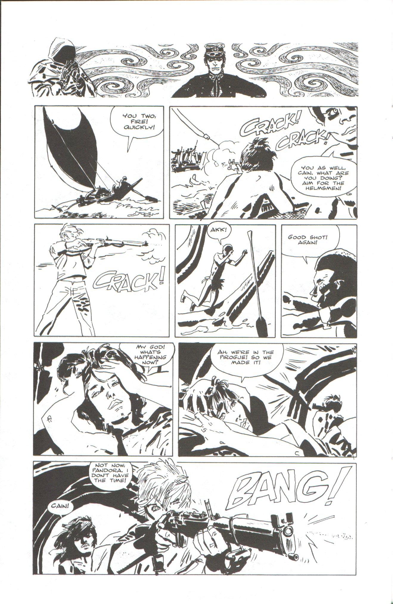 Read online Corto Maltese: Ballad of the Salt Sea comic -  Issue #2 - 22
