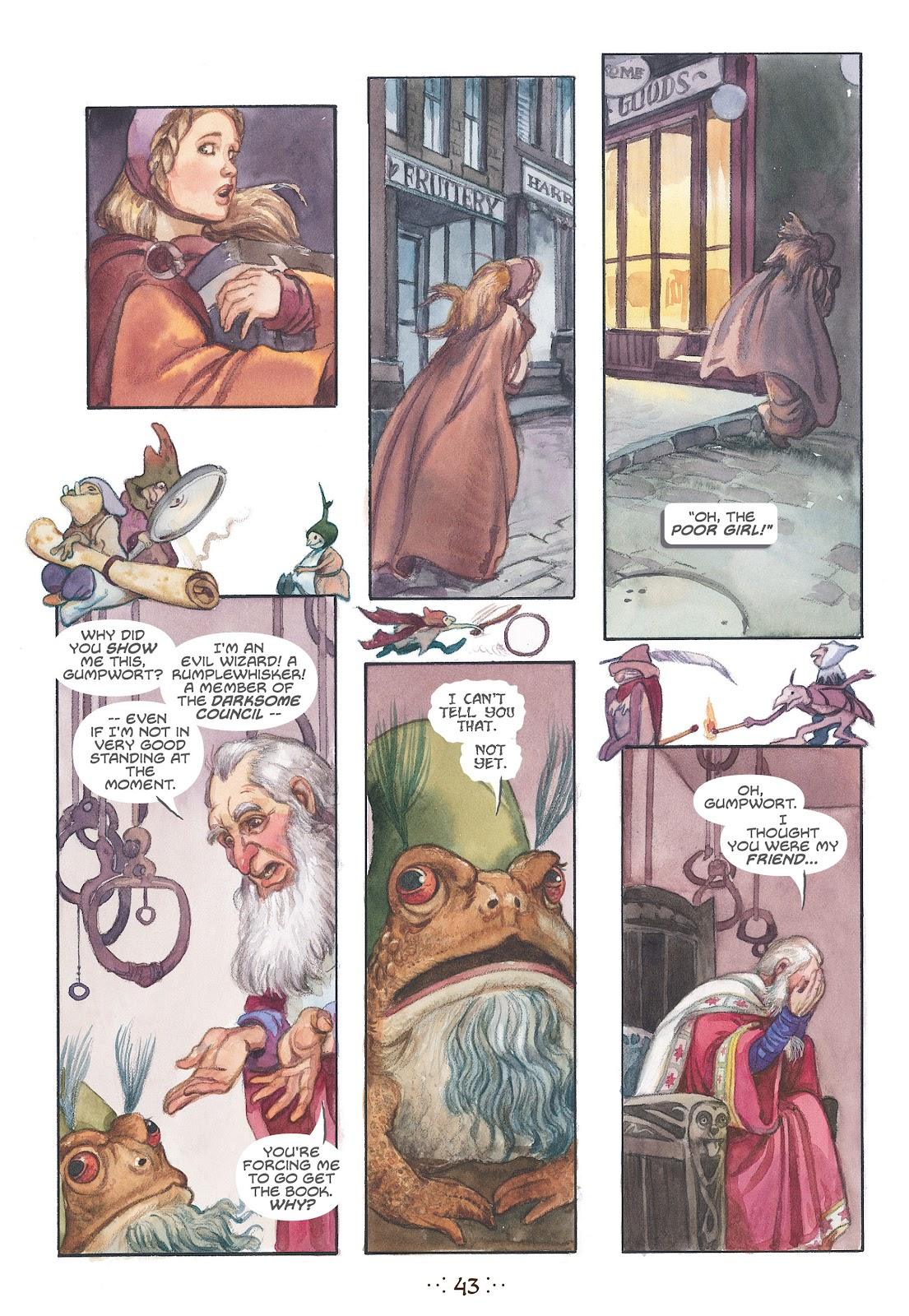 Read online The Wizard's Tale comic -  Issue # TPB - 40