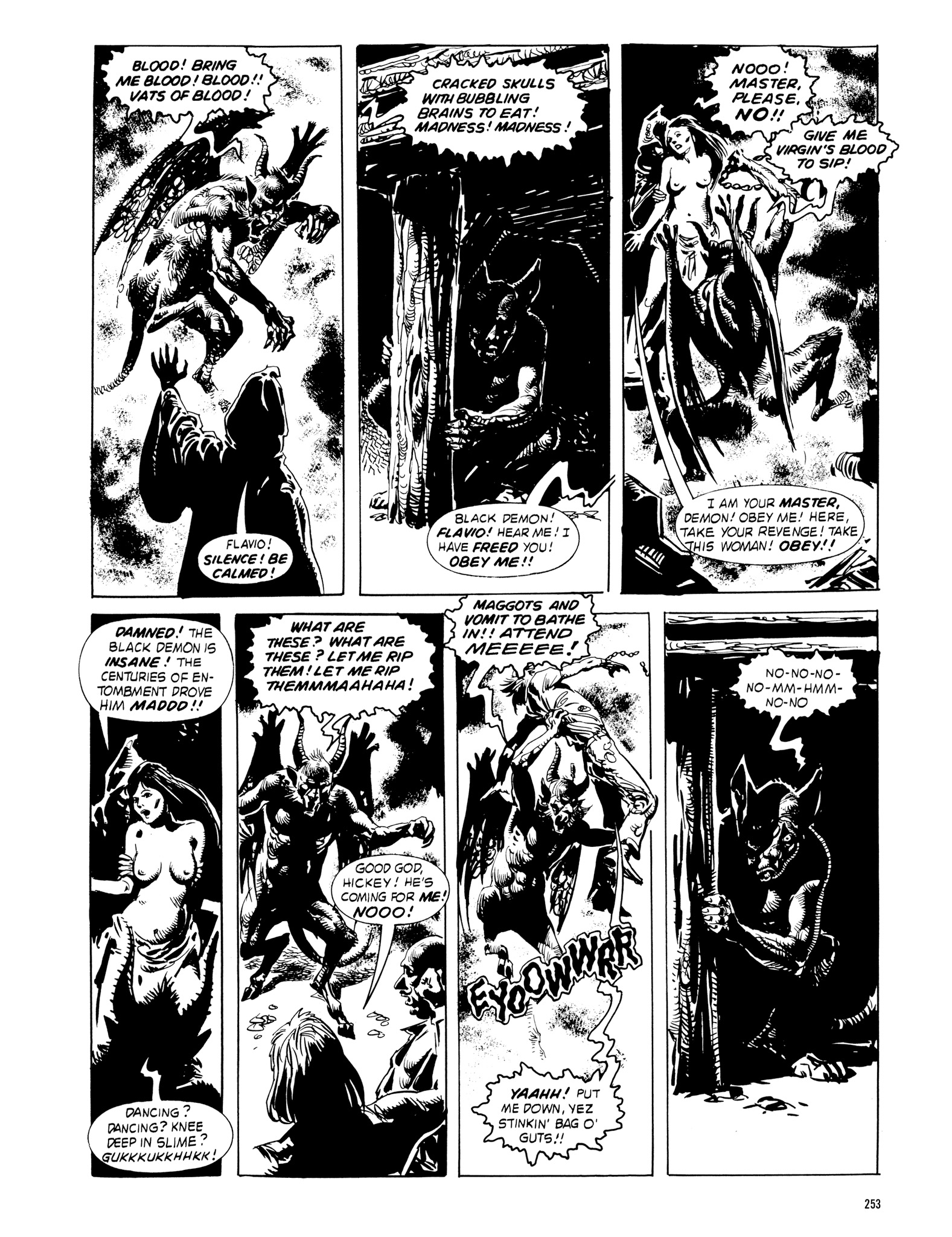 Read online Eerie Archives comic -  Issue # TPB 18 - 250
